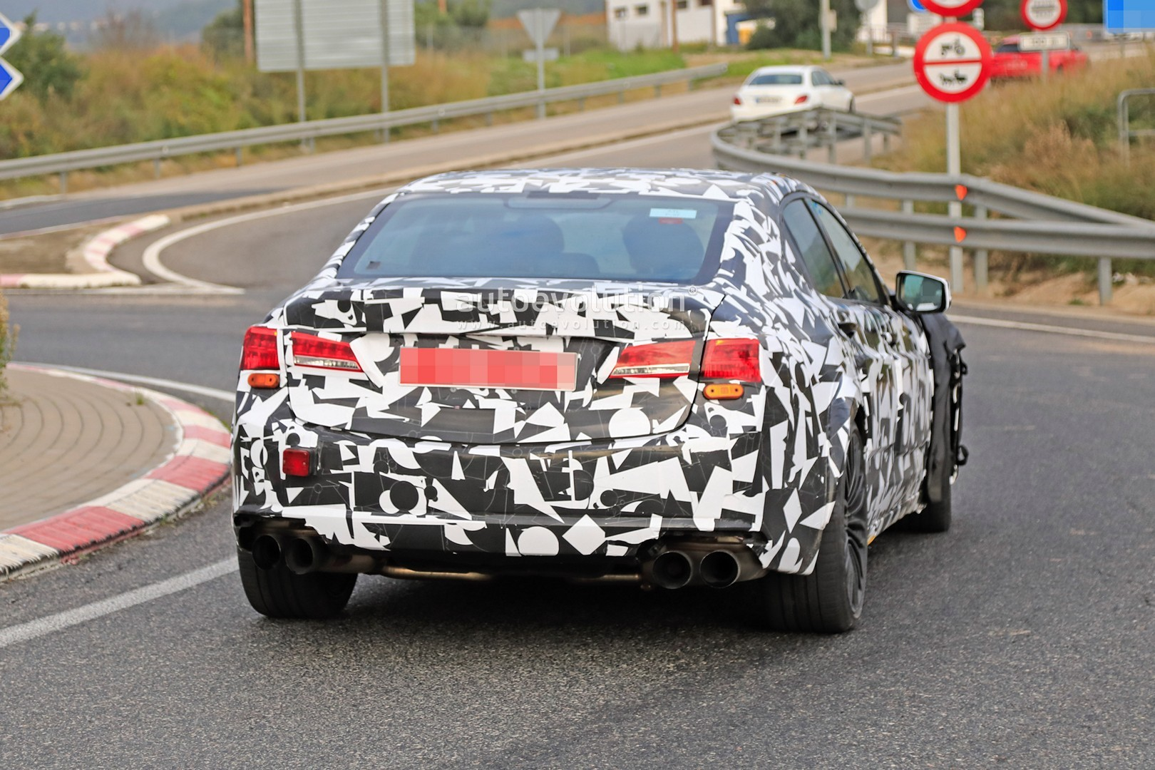 2020 Acura MDX Type S Spy Shots And Release Date Info >> 2020 Acura Tlx Type S Spied With Audi S4 And Amg C43 V6 Turbo