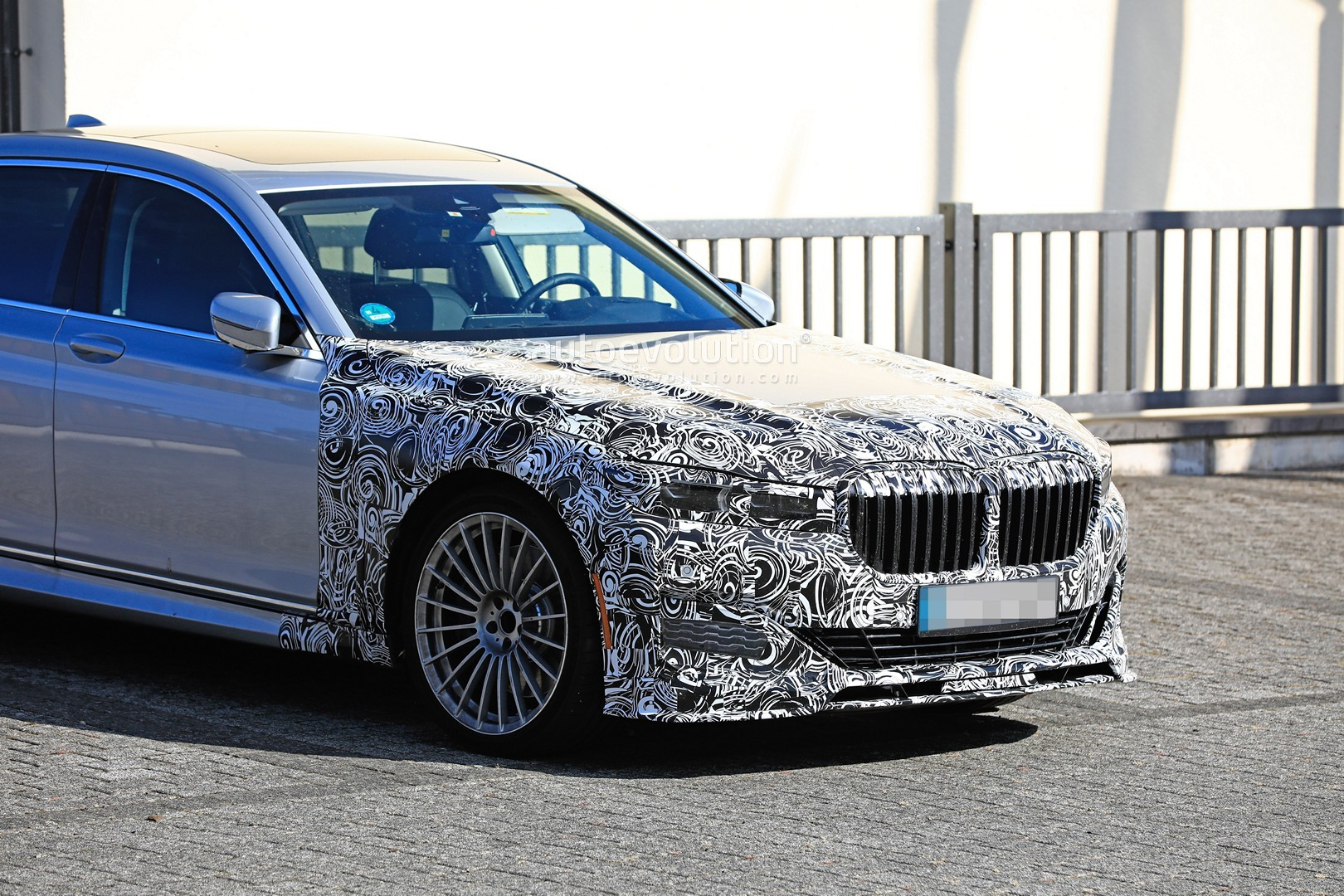 2020 alpina b7 spied in detail looks more aggressive than. Black Bedroom Furniture Sets. Home Design Ideas