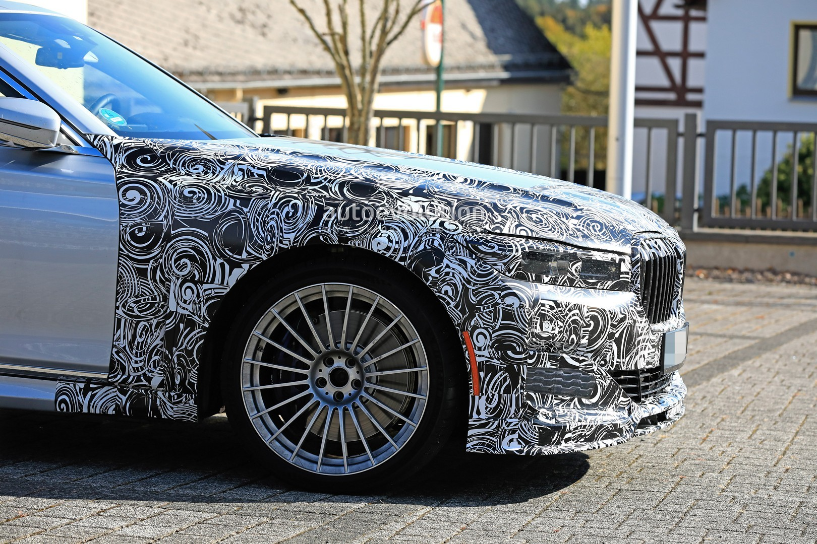 2020 Alpina B7 Spied In Detail Looks More Aggressive Than 7 Series