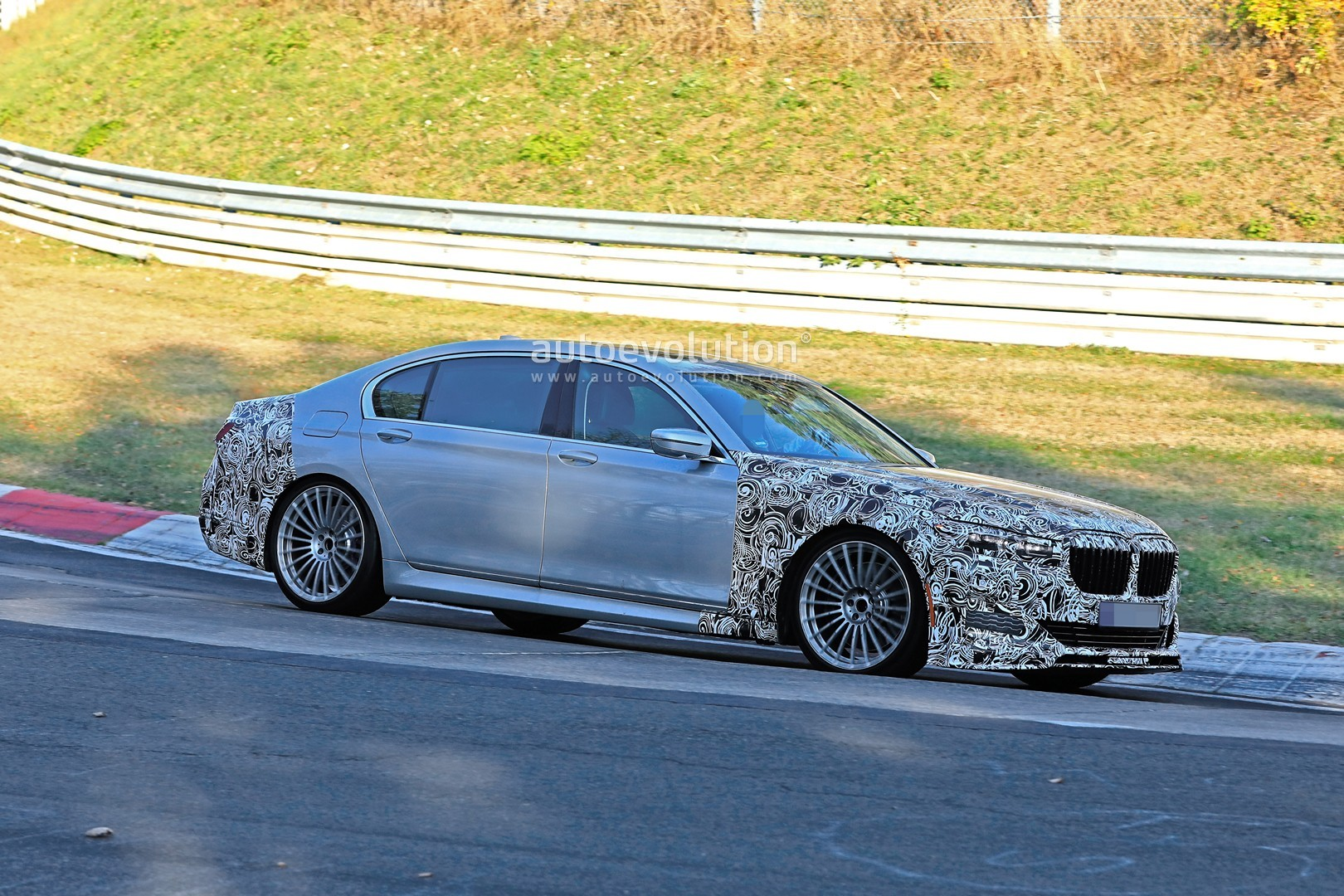 2020 alpina b7 spied in detail, looks more aggressive than