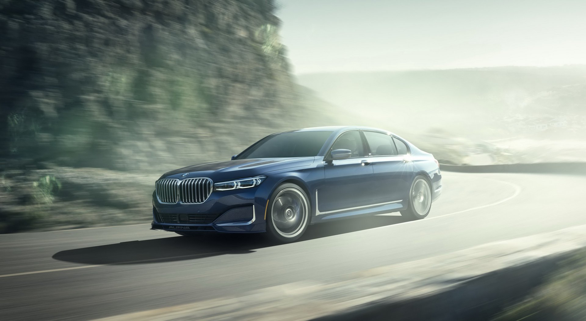 facelifted alpina b7 xdrive isn t your average bmw 7. Black Bedroom Furniture Sets. Home Design Ideas