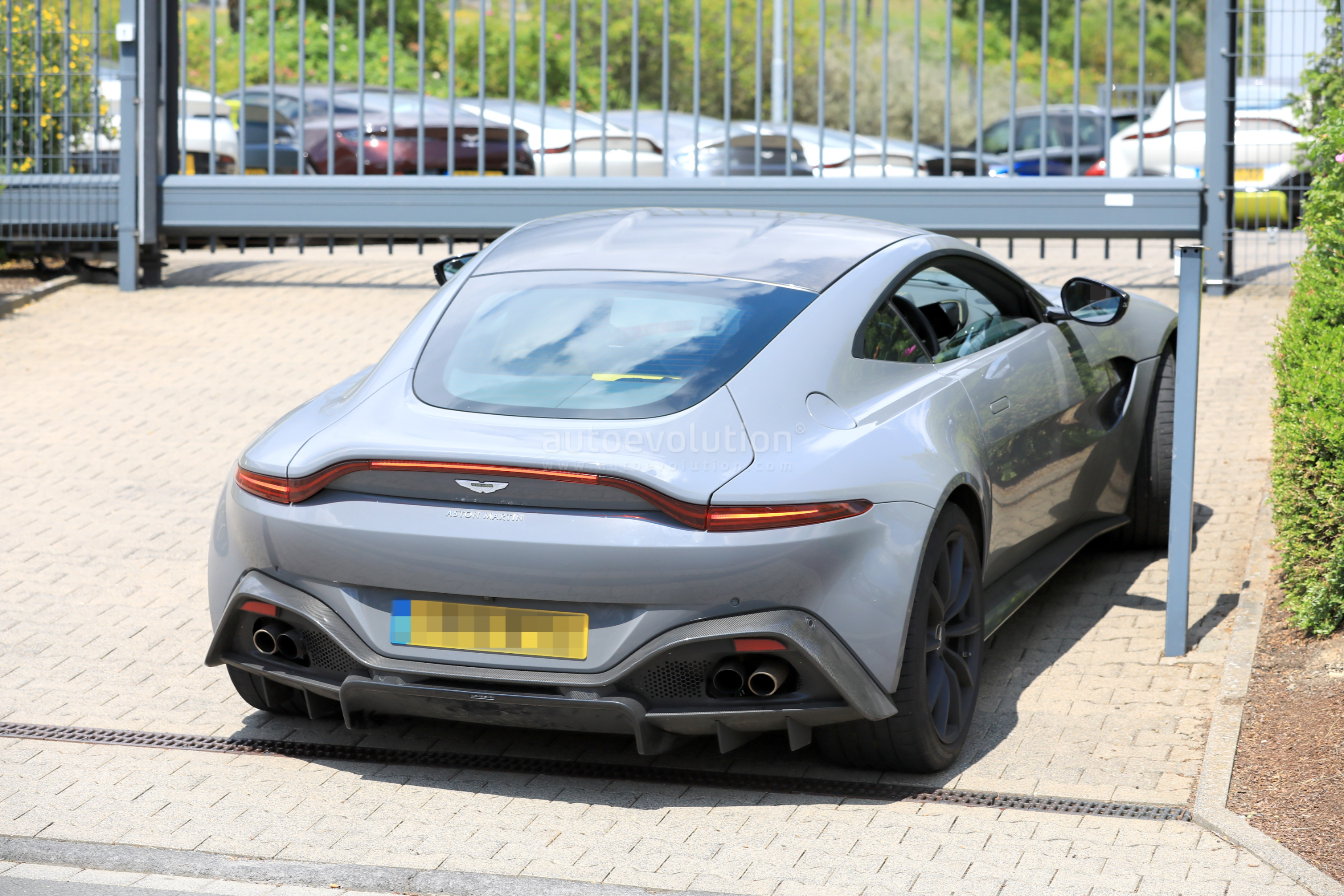 Aston Martin Vantage S Test Mule Spied Near The Nurburgring