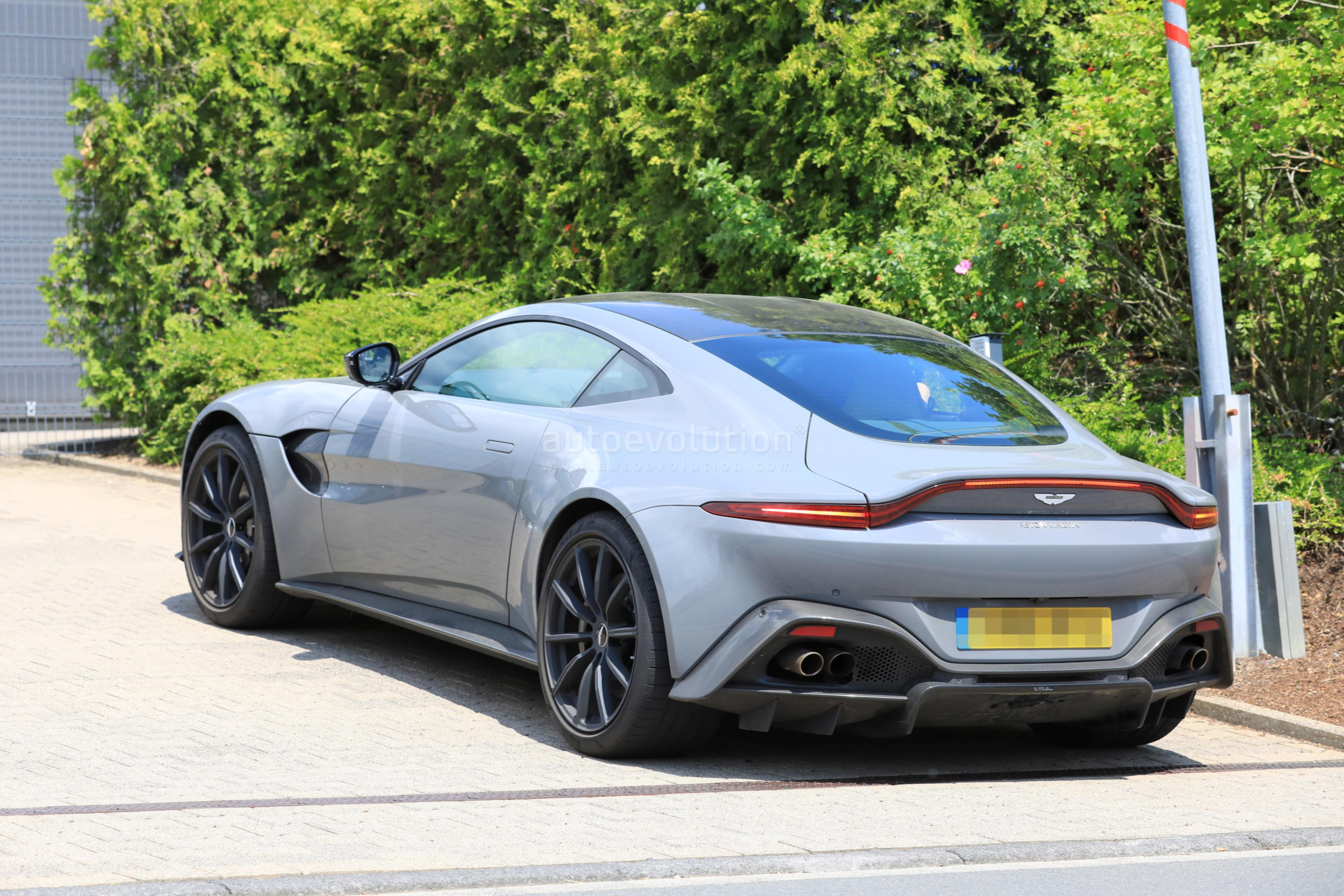 Aston Martin Vantage S Test Mule Spied Near The Nurburgring