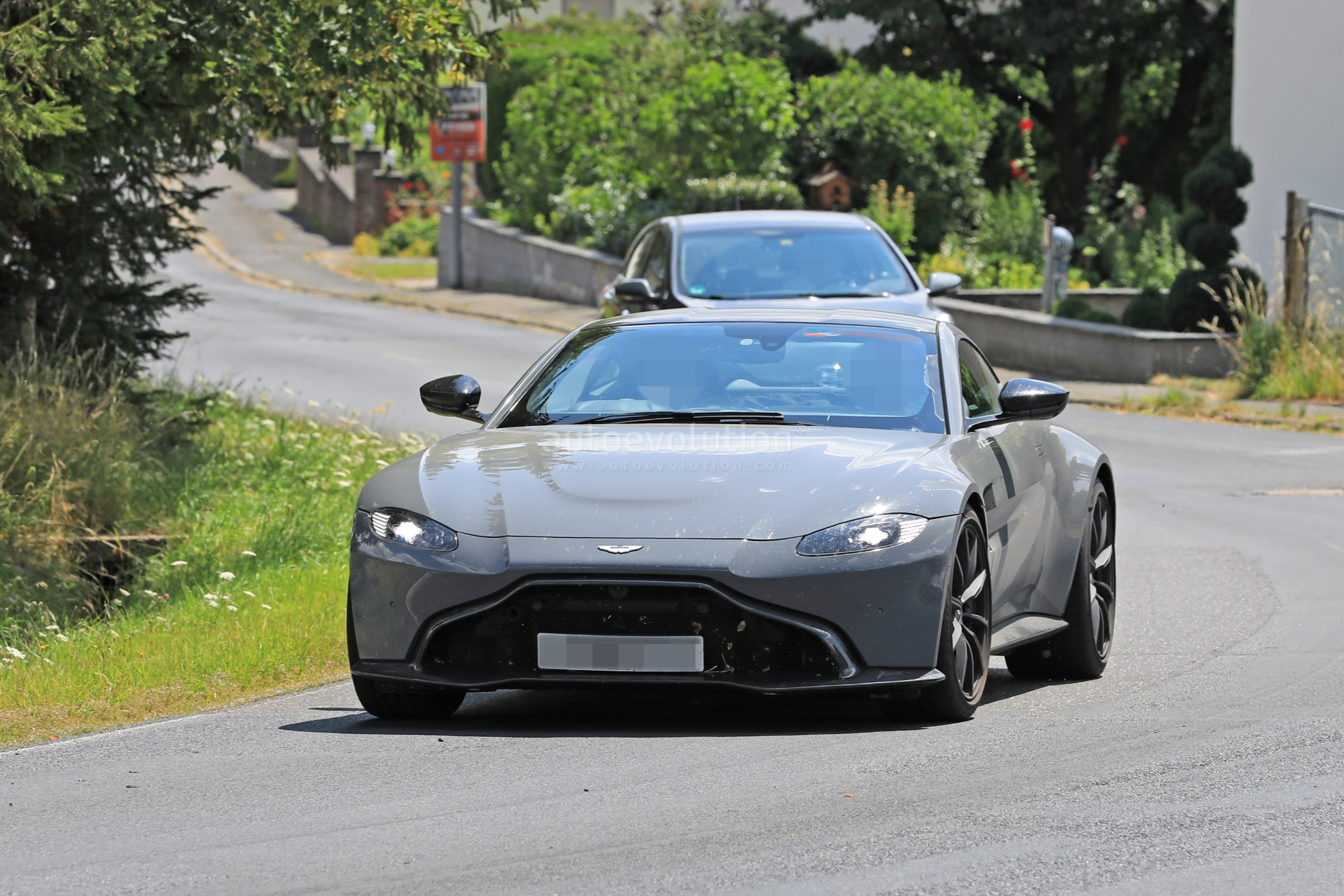 2020 aston martin v8 vantage s test mule spied near the nurburgring autoevolution. Black Bedroom Furniture Sets. Home Design Ideas