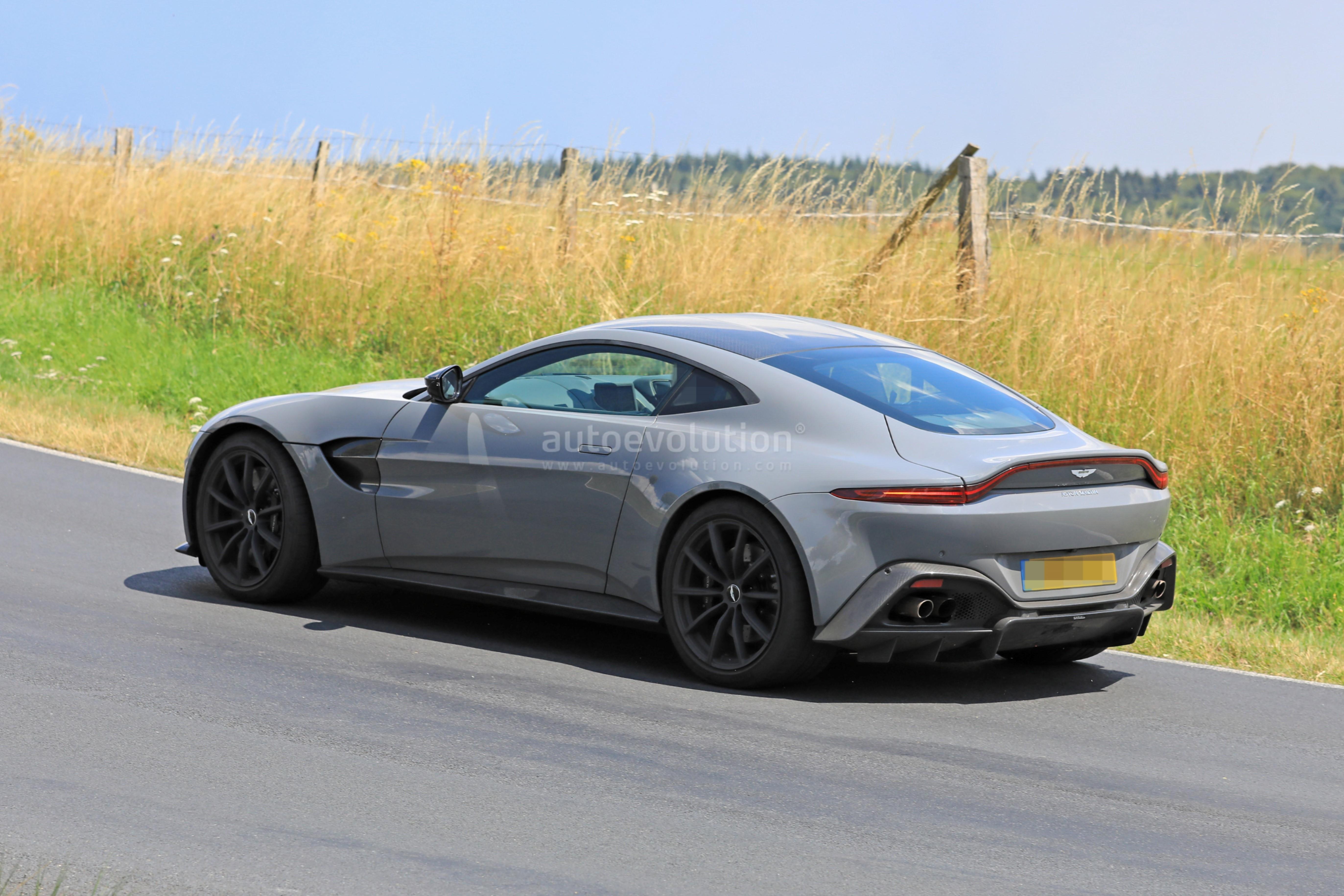 2020 Aston Martin V8 Vantage S Test Mule Spied Near The Nurburgring Autoevolution