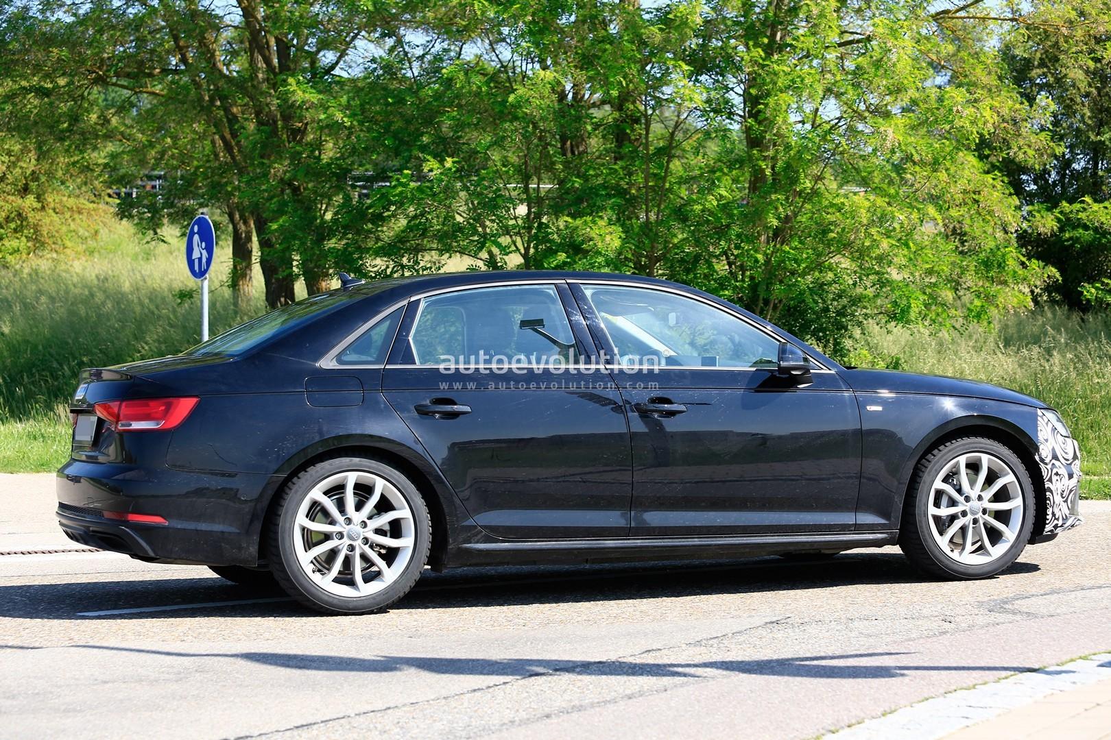 2020 Audi A4 Facelift New Spyshots Show All the Details - autoevolution
