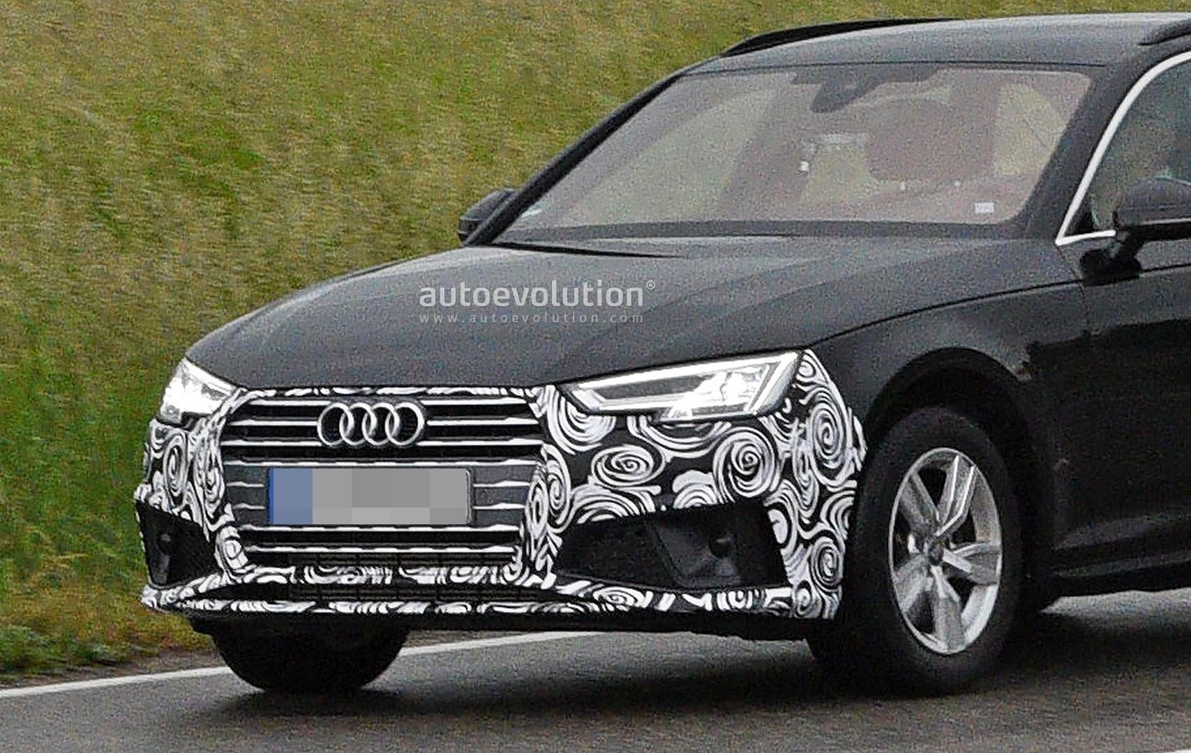 Spyshots 2020 Audi A4 Starts Testing Its Facelift Getting
