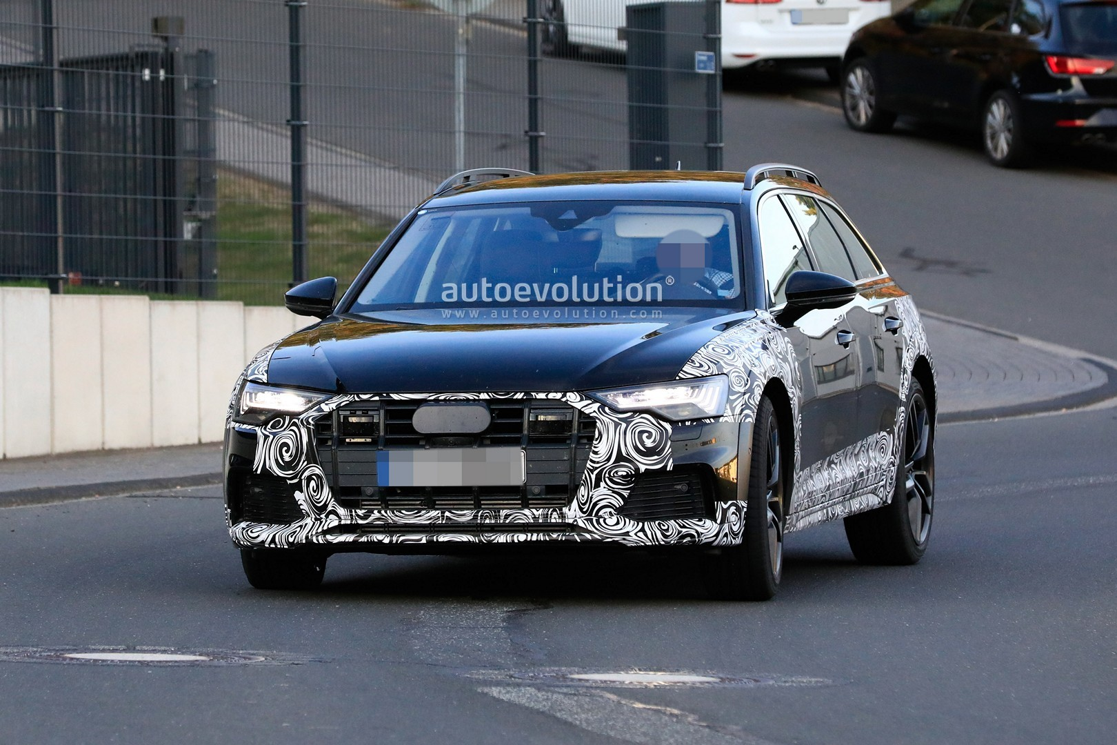 2020 Audi A6 Allroad Quattro Spied Testing With Mild Off Road Body