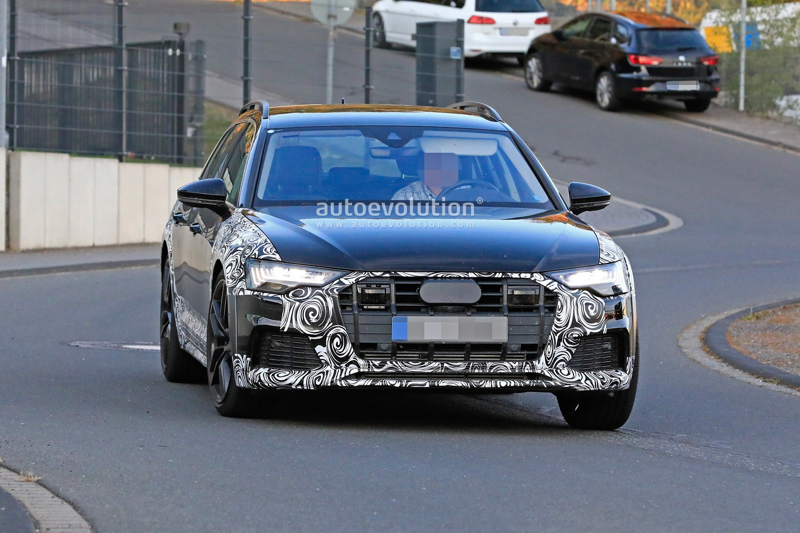 2020 audi a6 allroad quattro spied testing with mild off. Black Bedroom Furniture Sets. Home Design Ideas