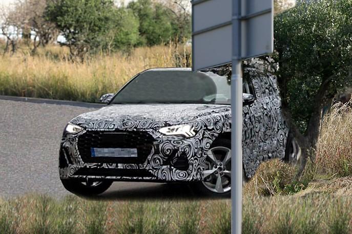 2019 - [Audi] Q3 Sportback - Page 2 2020-audi-q4-spied-camouflage-hides-q8-design-influences_1