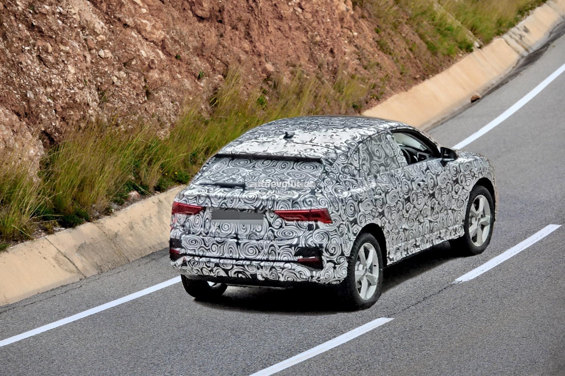 2019 - [Audi] Q3 Sportback - Page 2 2020-audi-q4-spied-camouflage-hides-q8-design-influences_4