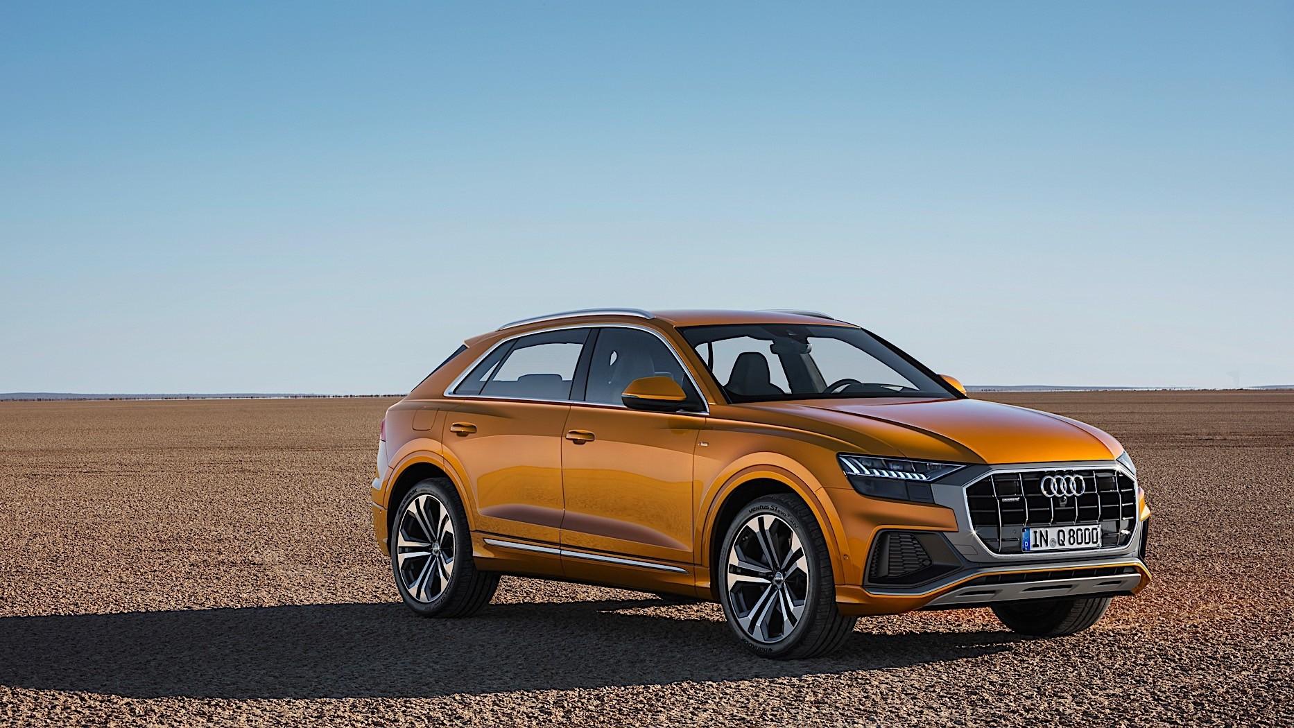 2020 Audi Q4 Spied, Camouflage Hides Q8 Design Influences ...
