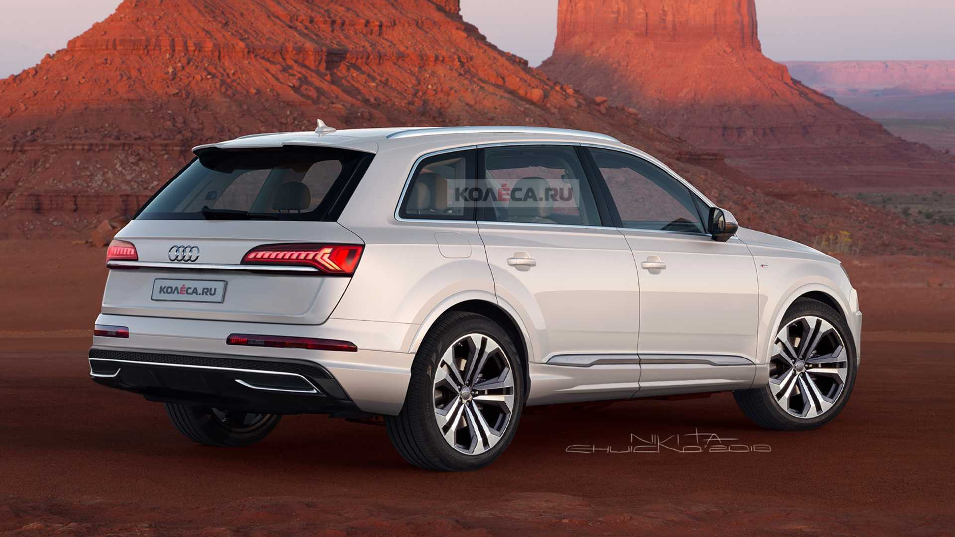 2020 Audi Q7 Facelift Should Look Like This