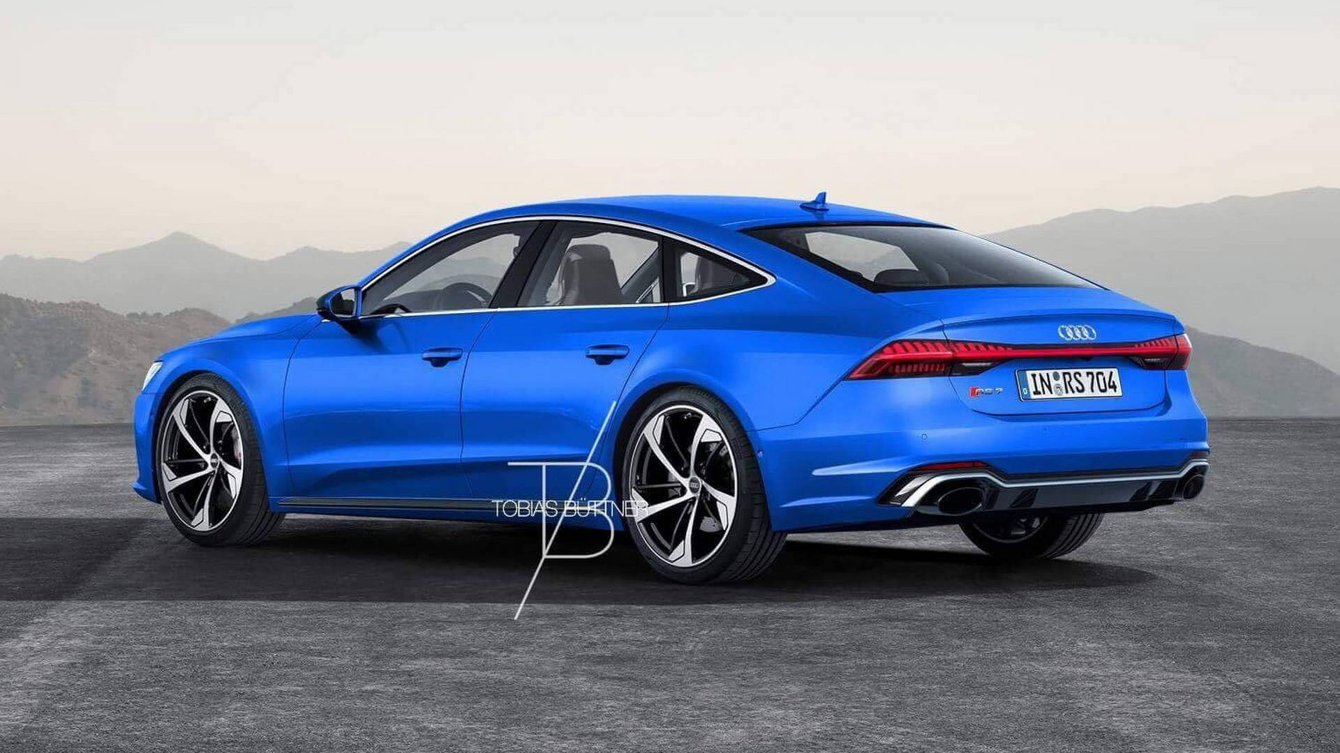 2020 Audi Rs7 Rendering Is Begging For 700 Hp Hybrid V8