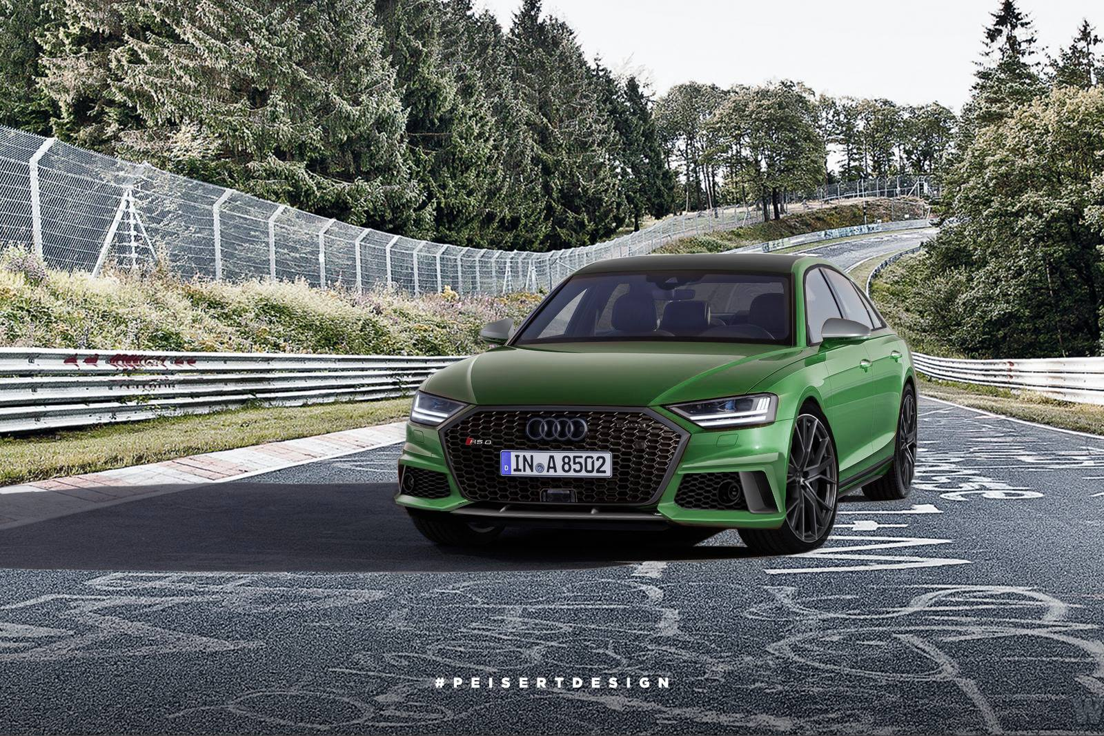 2020 audi rs8 and 2019 s8 sedans rendered which is better autoevolution. Black Bedroom Furniture Sets. Home Design Ideas