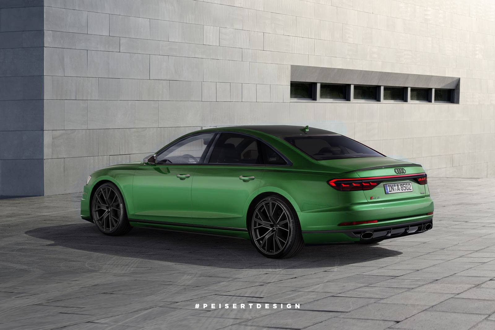 2020 Audi Rs8 And 2019 S8 Sedans Rendered Which Is Better