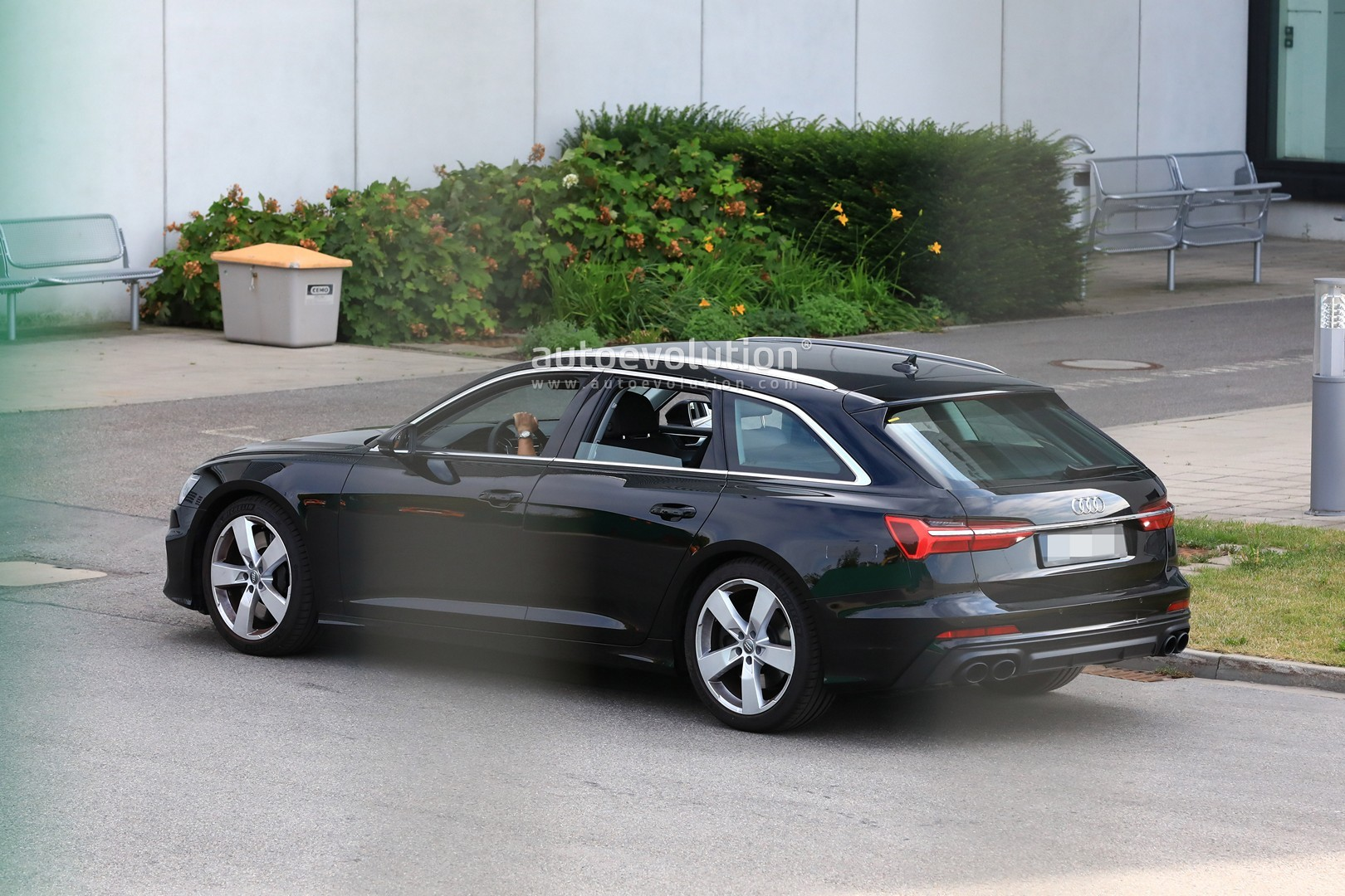 2020 Audi S6 Avant Spied With No Camo Looks Very Understated Autoevolution
