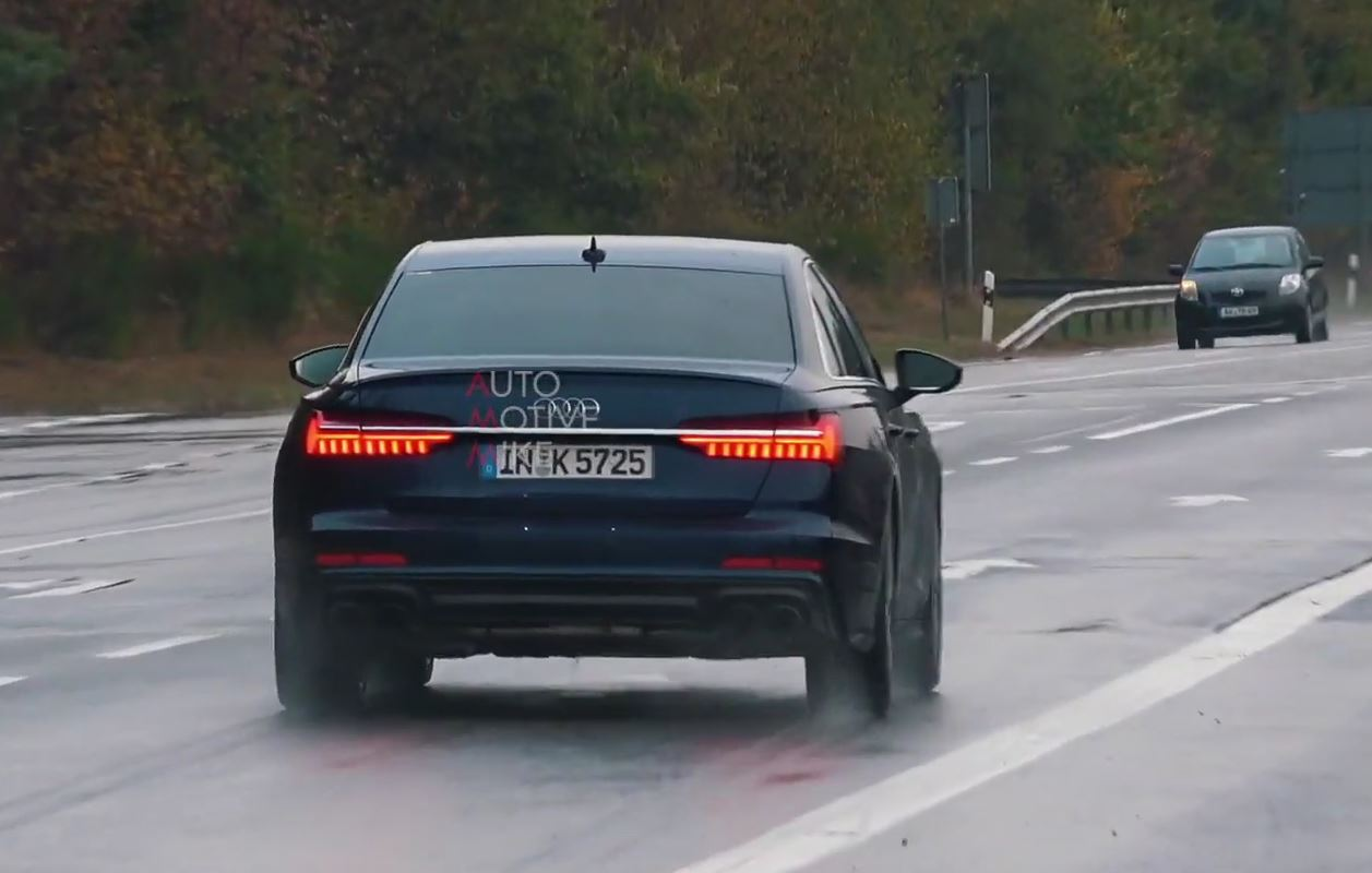2020 Audi S6 Sedan With V6 Engine Sounds Relatively Muted Near