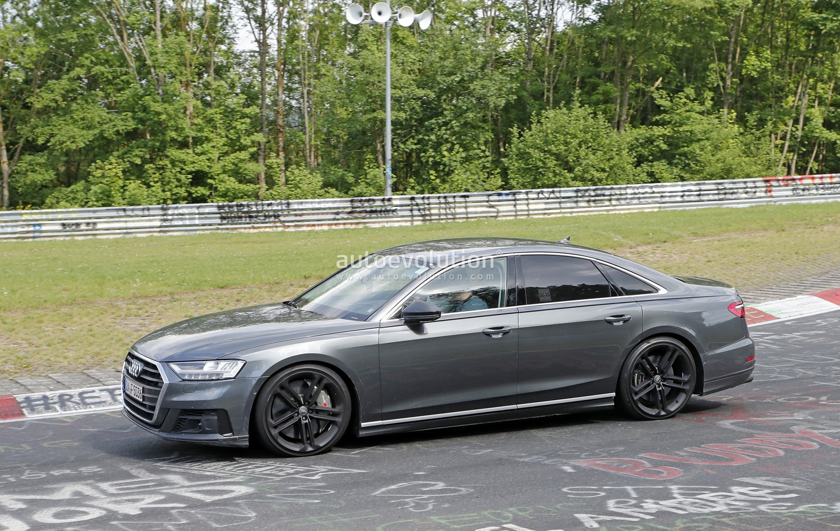 2020 audi s8 goes sideways on the nurburgring looks ready. Black Bedroom Furniture Sets. Home Design Ideas