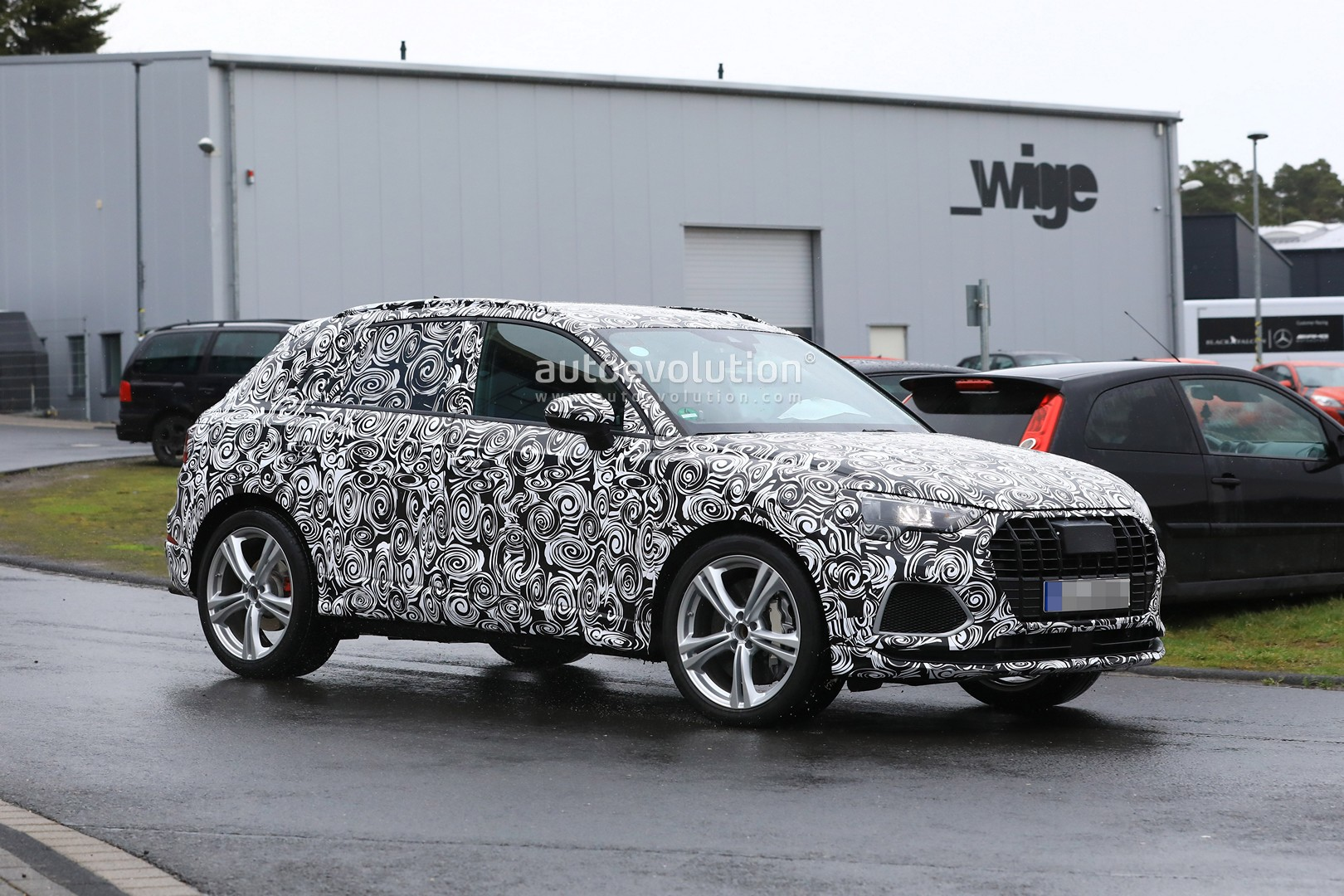Audi SQ3 Caught Out In The Open