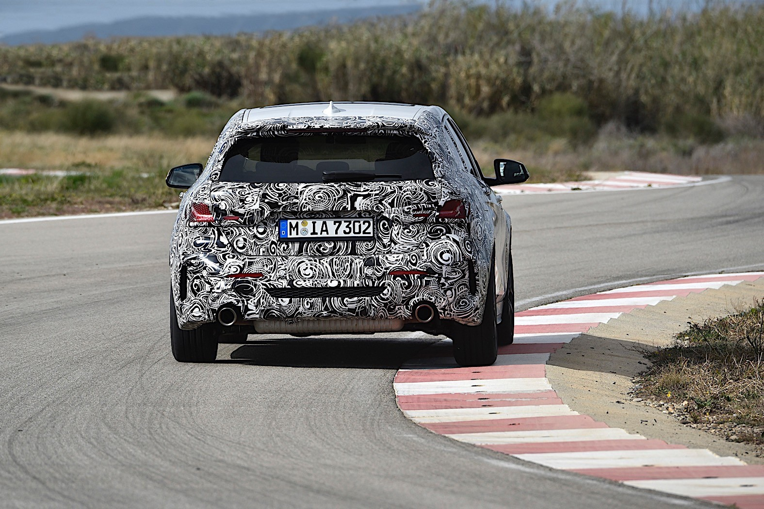 2020 bmw 1 series shows in france why front-wheel drive is