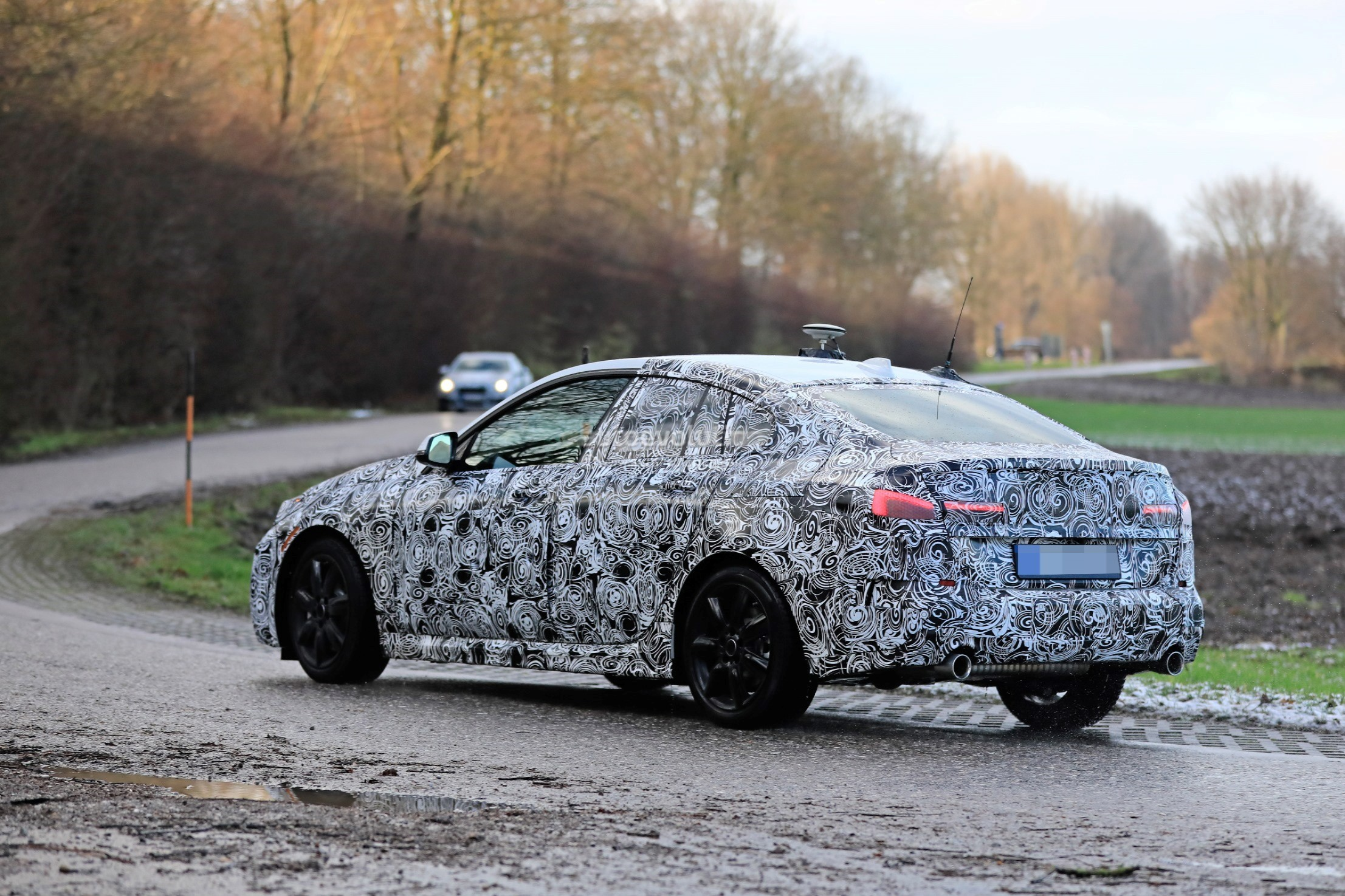 2020 Bmw 2 Series Gran Coupe F44 Spied Comes With Fwd