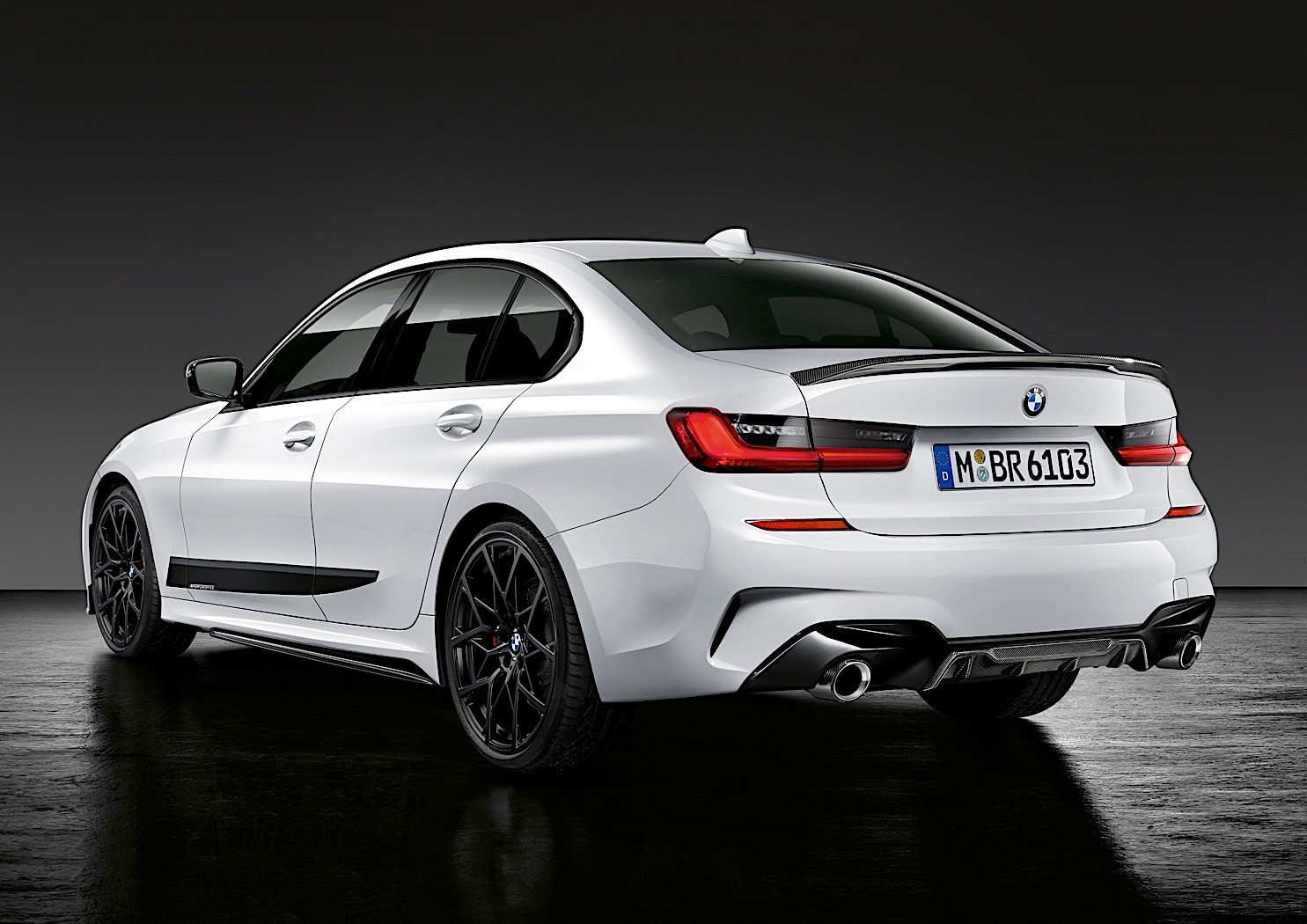 2020 Bmw 3 Series M Performance Parts Take The Sedan To An
