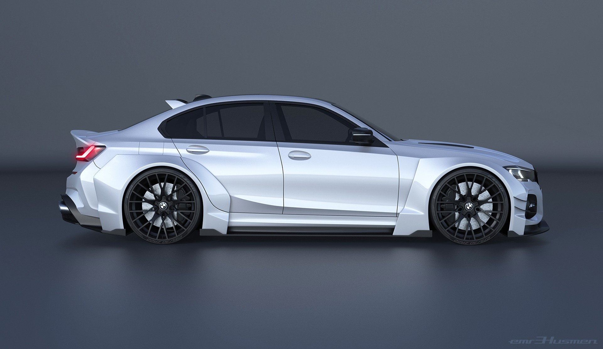 2020 Bmw 3 Series Rendered With Race Car Concept Kit