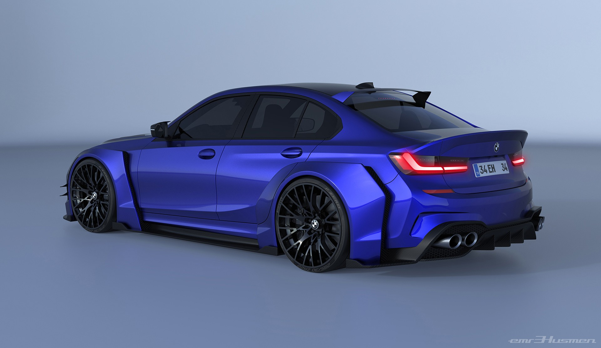2020 BMW 3 Series Rendered With Race Car Concept Kit ...
