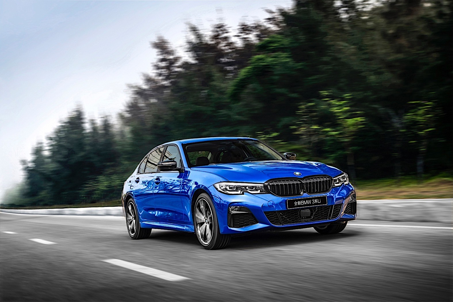 2020 BMW 3 Series Stretches to Become 325Li Exclusively ...