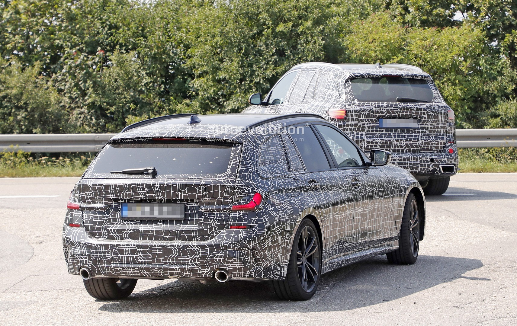 2020 Bmw 3 Series Touring Looks Excellent Interior Spied