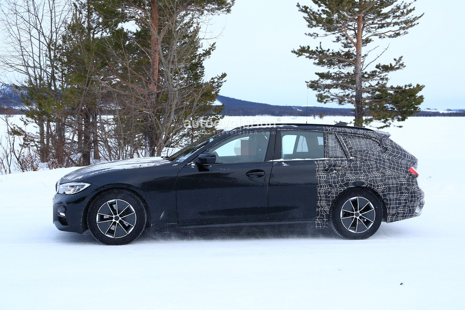 2020 Bmw 3 Series Touring Spied Winter Testing With M