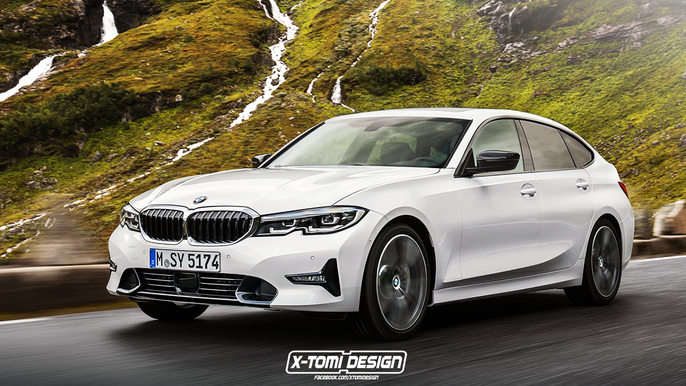 2020 Bmw 3 Series Wagon And Gran Turismo Accurately Rendered