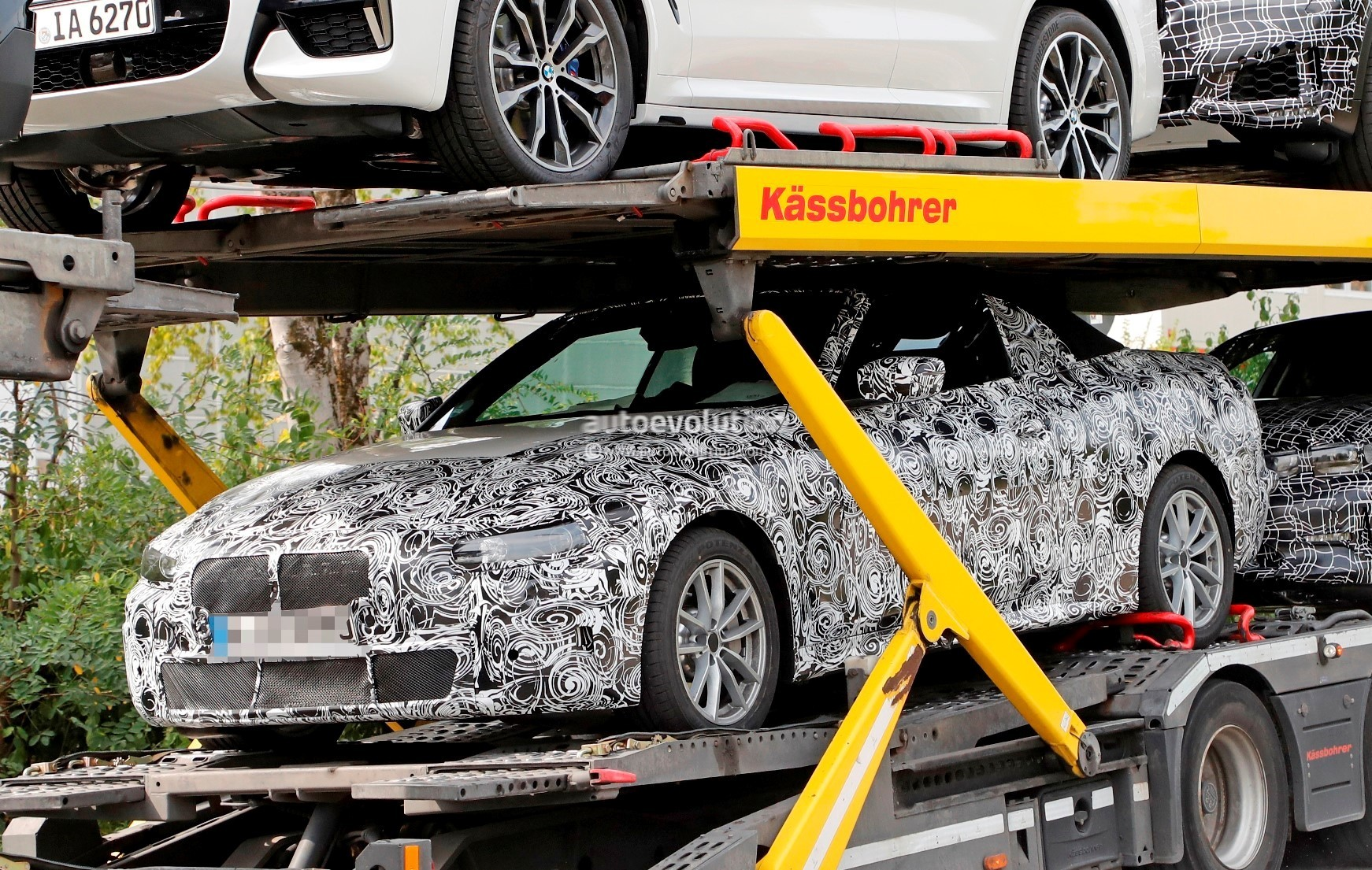 2020 bmw 4 series convertible g22 spied flaunting soft top autoevolution