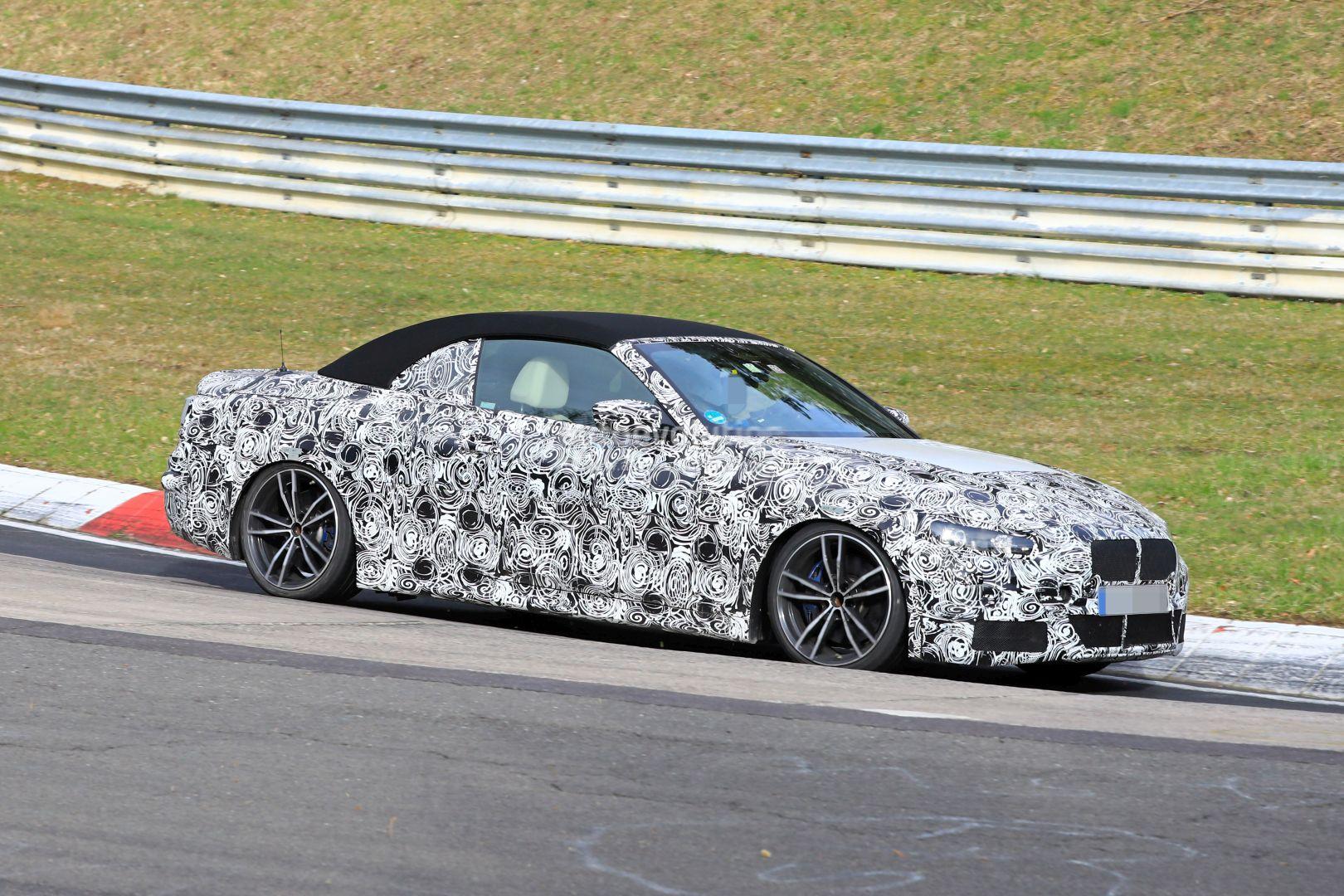 2020 BMW 4 Series Convertible Shows Up on Nurburgring ...