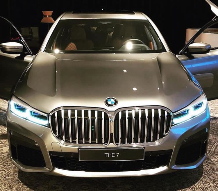 Bmw X7 M Series: Facelifted 2020 BMW 7 Series Features X7 Grille