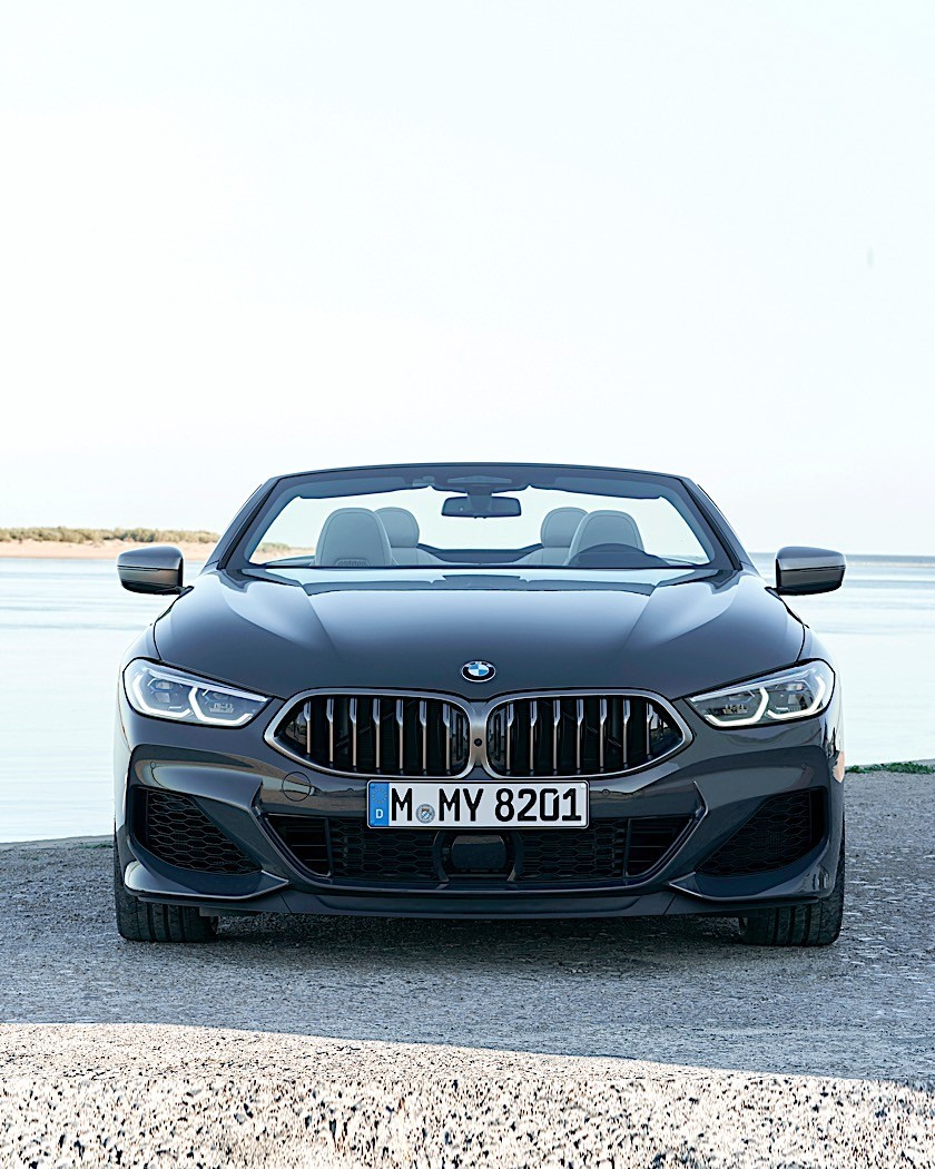 2020 BMW 8 Series Convertible Looks At Home In Portugal
