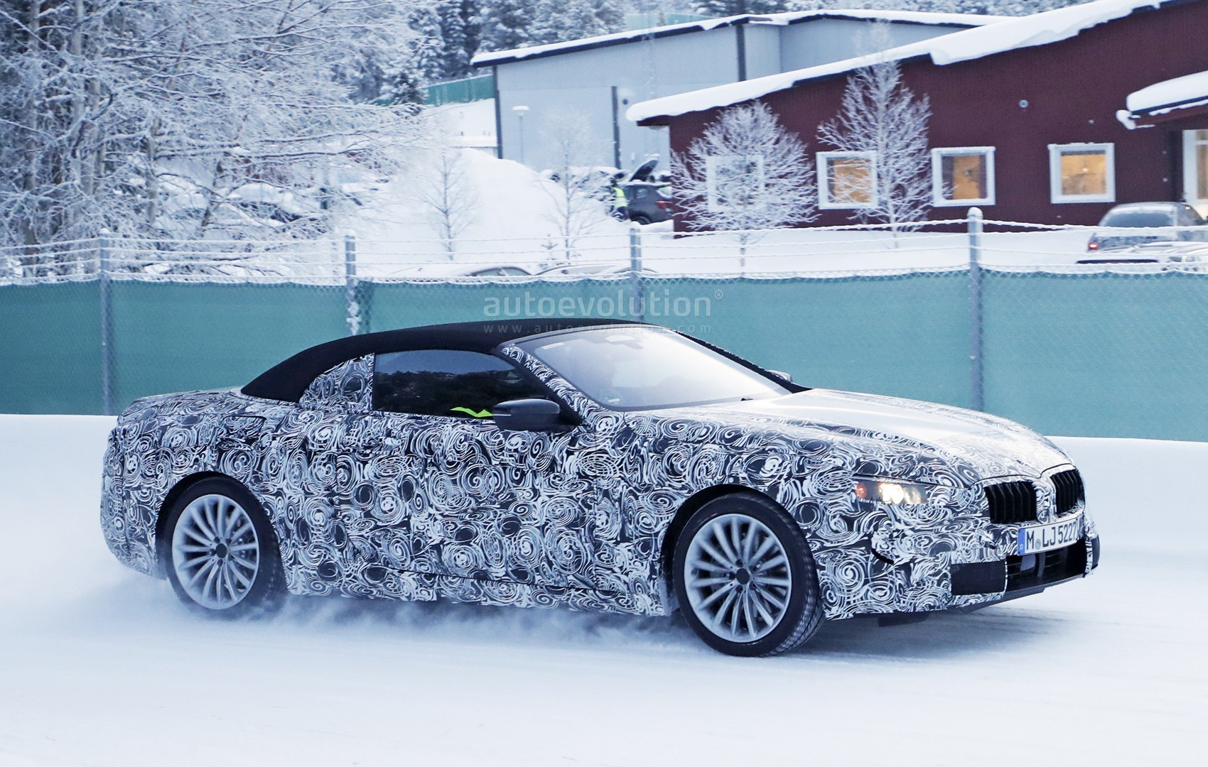 2018 bmw 8 series convertible. interesting 2018 2020 bmw 8 series convertible undergoes winter testing throughout 2018 bmw series convertible