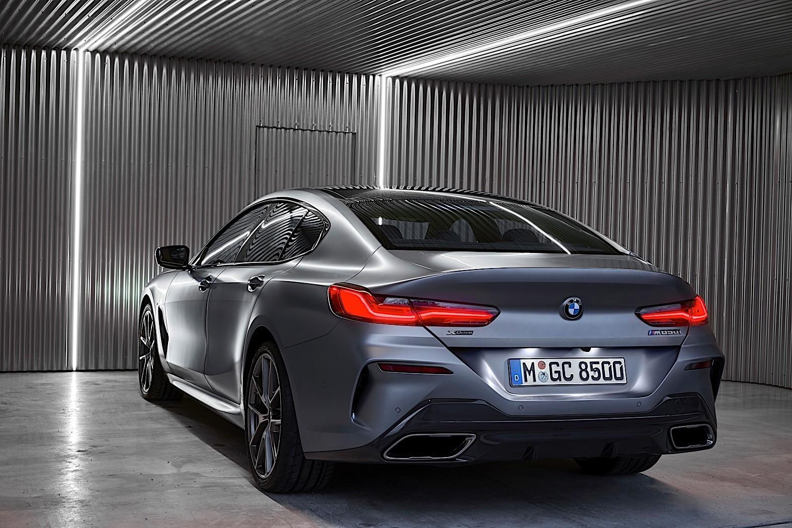 2020 bmw 8 series gran coupe breaks cover as four-door premium sports car