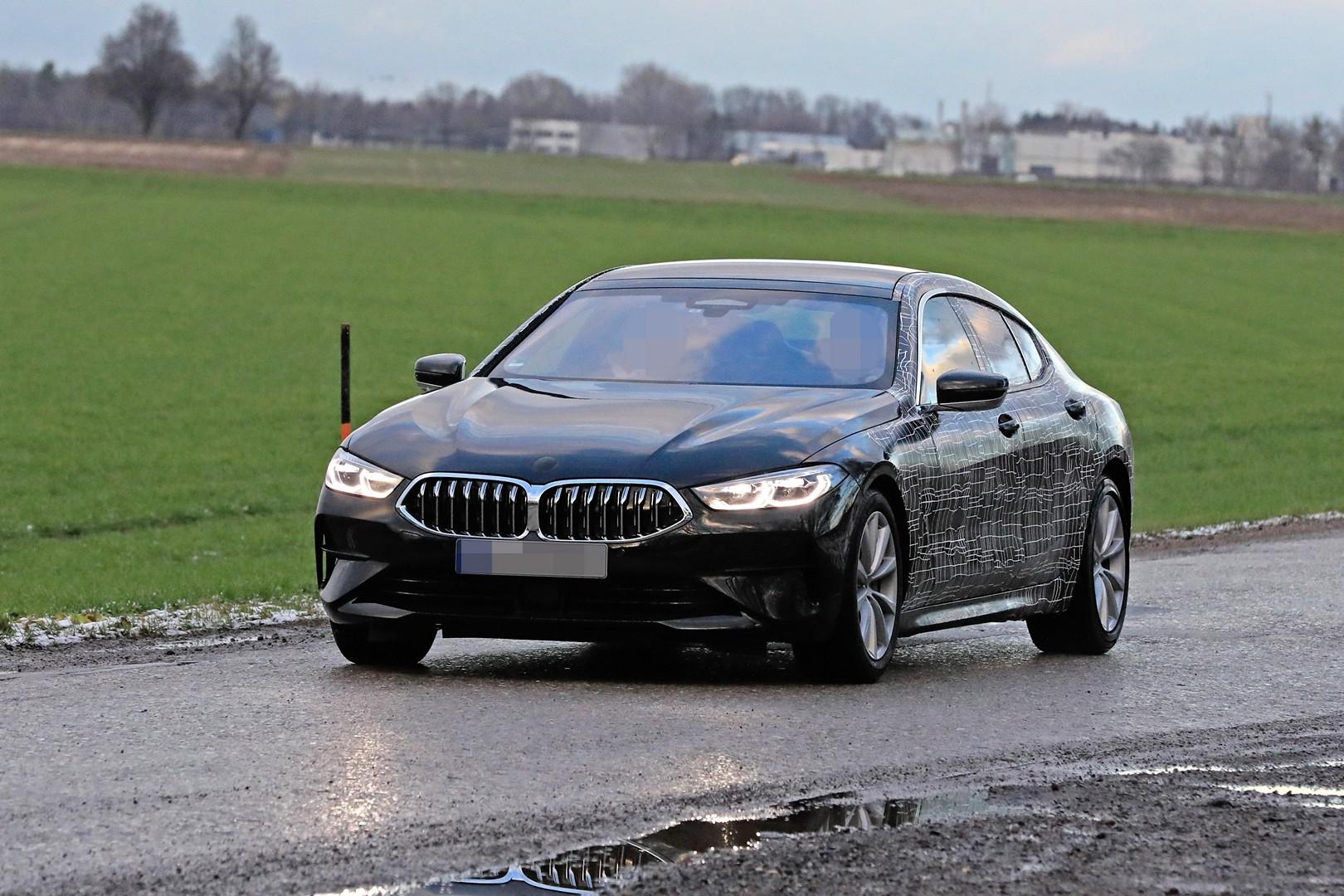 2020 bmw 8 series gran coupe looks boring in latest spyshots