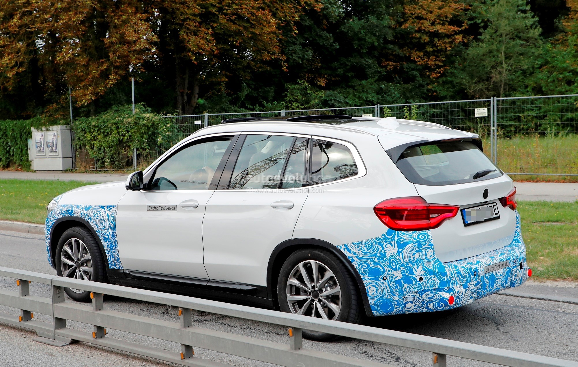 2020 BMW iX3 Electric SUV Spied Flaunting Yellow Wiring ...