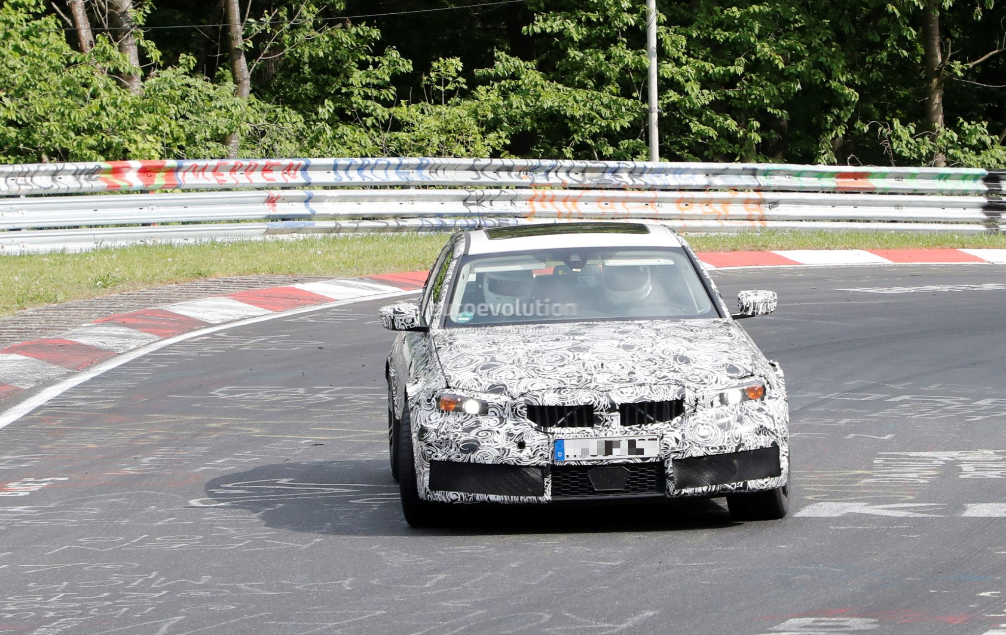 Spyshots 2020 Bmw M3 G80 Hits The Ring With Zf 8hp
