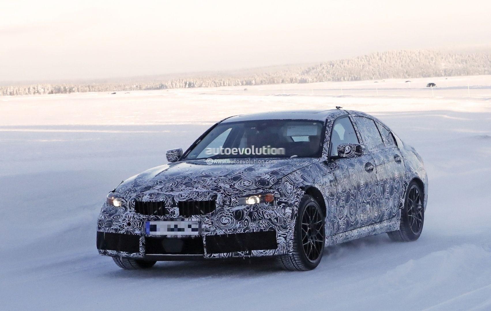 Spyshots: 2020 BMW M3 (G80) Testing, M xDrive AWD Rumors ...