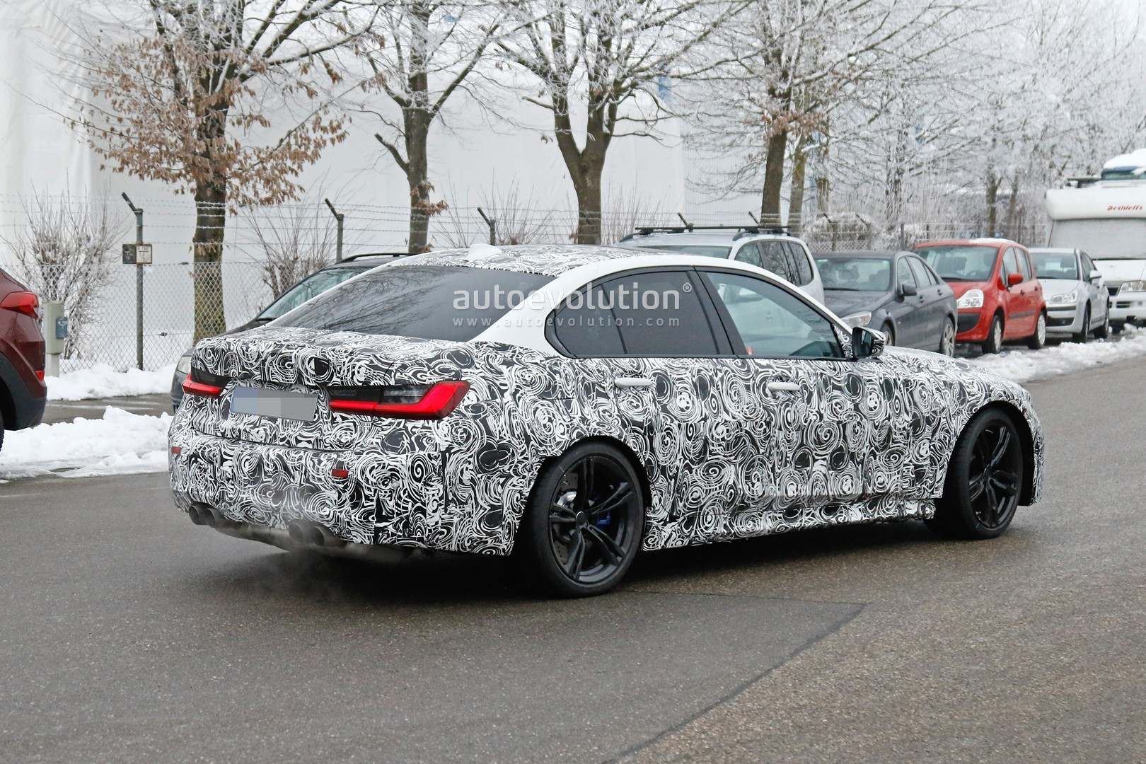 2020 BMW M3 Looks Like a Baby M5, Will Debut With Up to ...