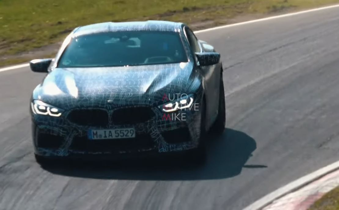 2020 BMW M8 Shows a Lot of Skin at the Nurburgring