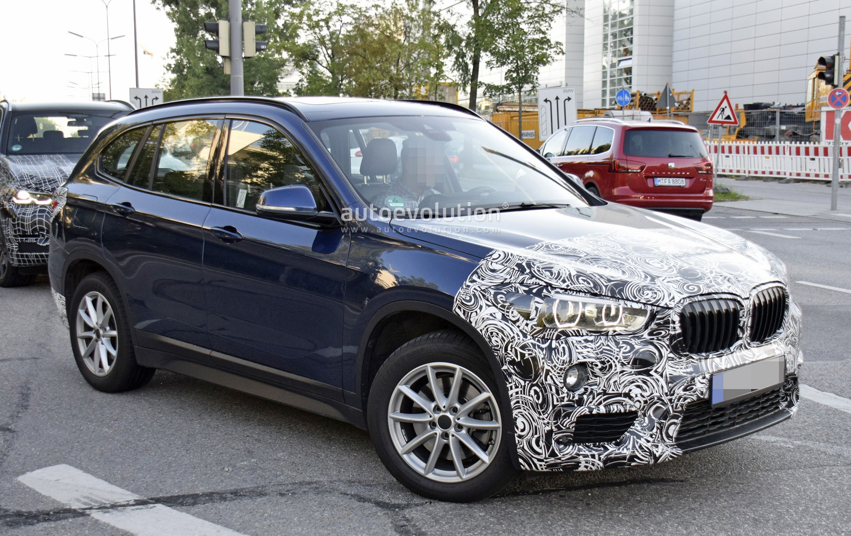 Spyshots 2020 Bmw X1 Facelift Spotted Testing In Germany