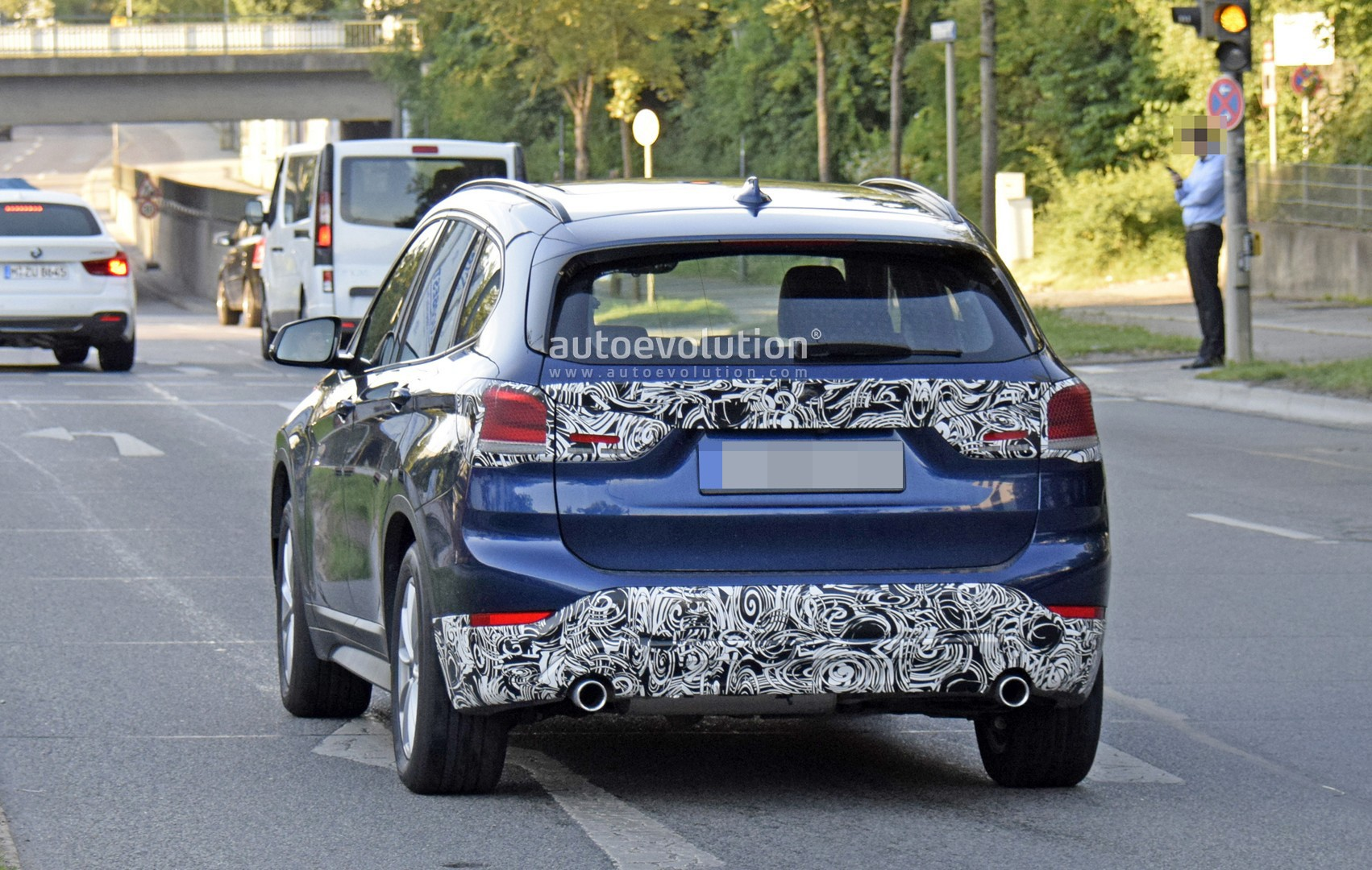 Spyshots 2020 Bmw X1 Facelift Spotted Testing In Germany Autoevolution
