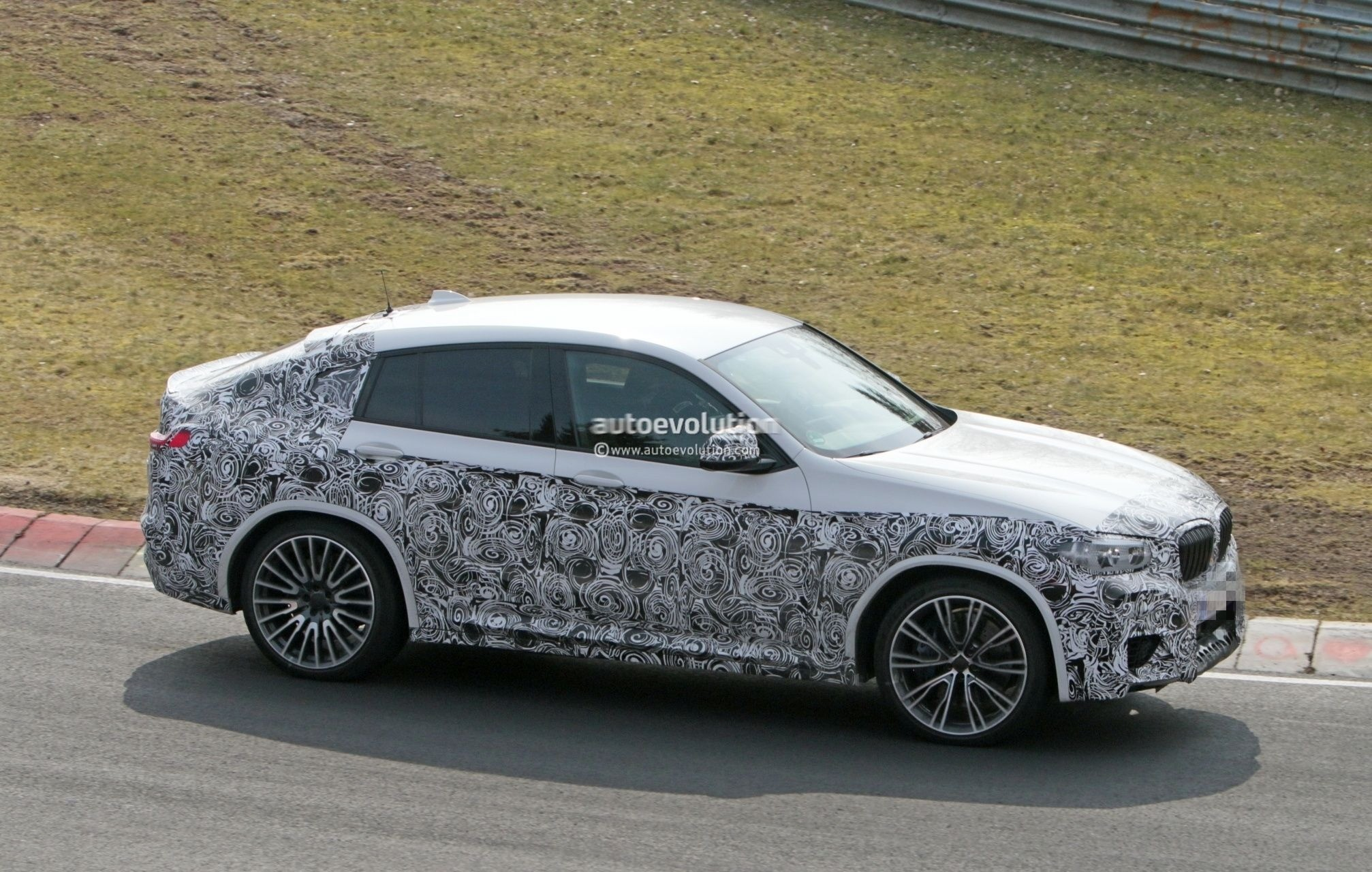2020 Bmw X4 M Photographed Without Camouflage In