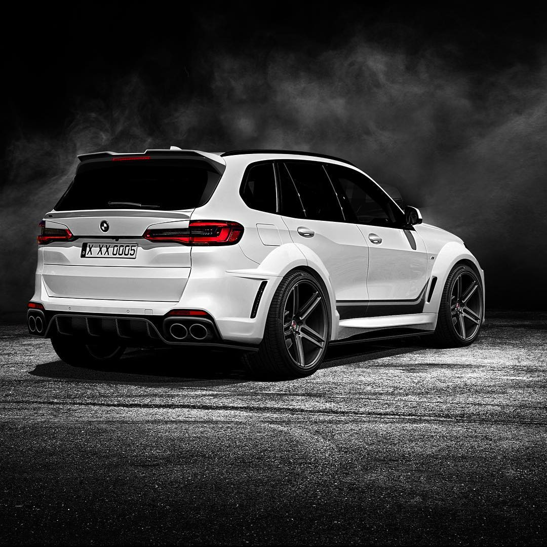 2020 Bmw X5 Gets Stormtrooper Widebody Kit From Renegade Russia
