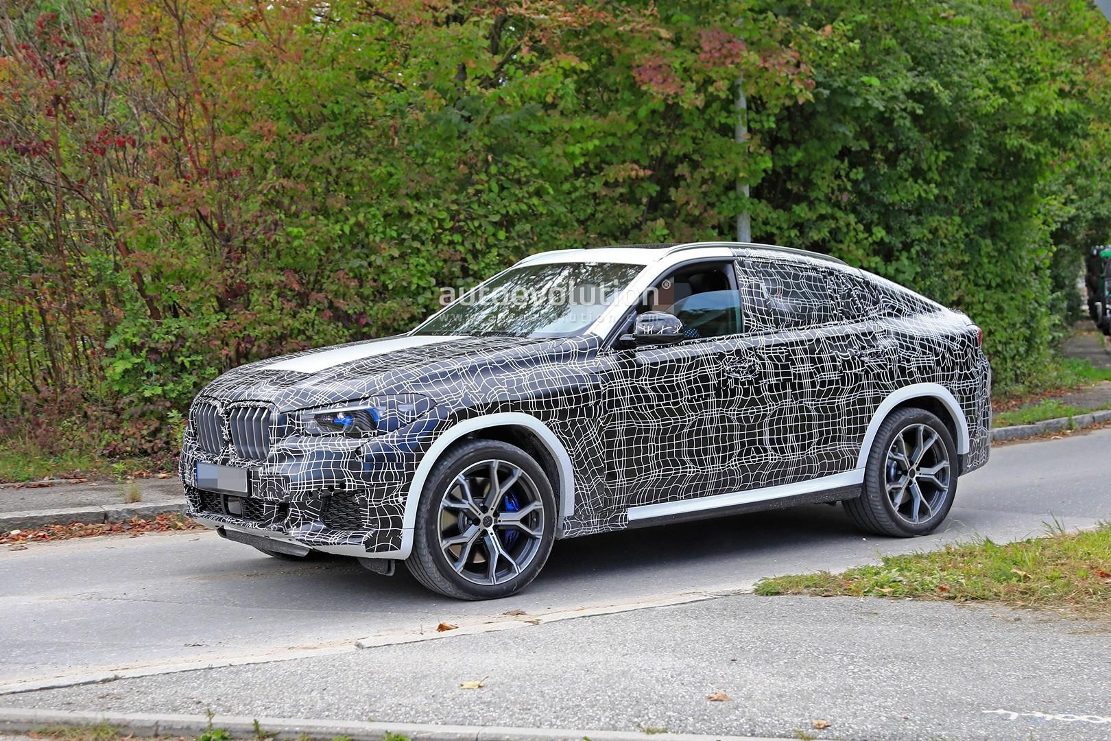 BMW X6: Svelte Crossover Gets Big Upgrades